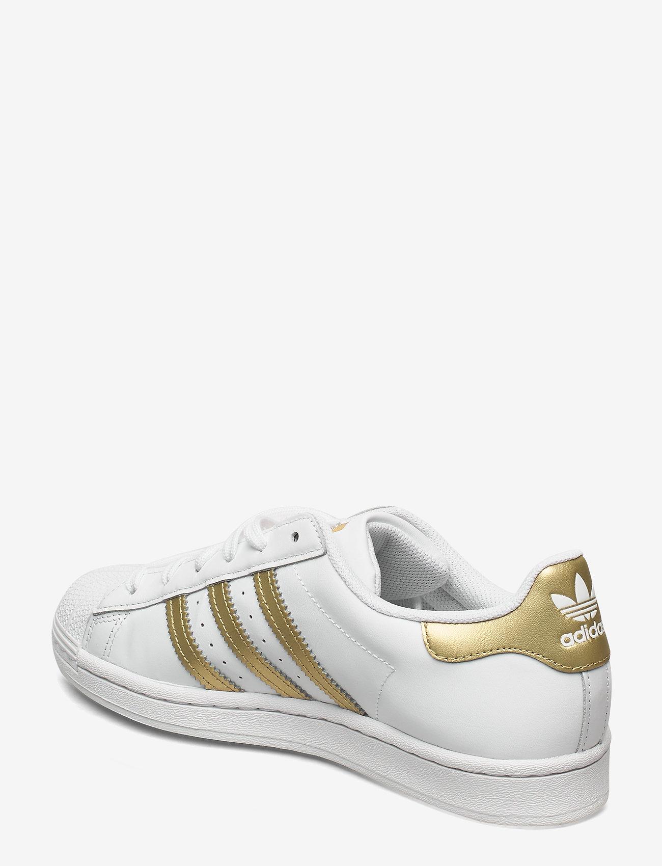 adidas Originals - Superstar  W - låga sneakers - ftwwht/goldmt/ftwwht - 2
