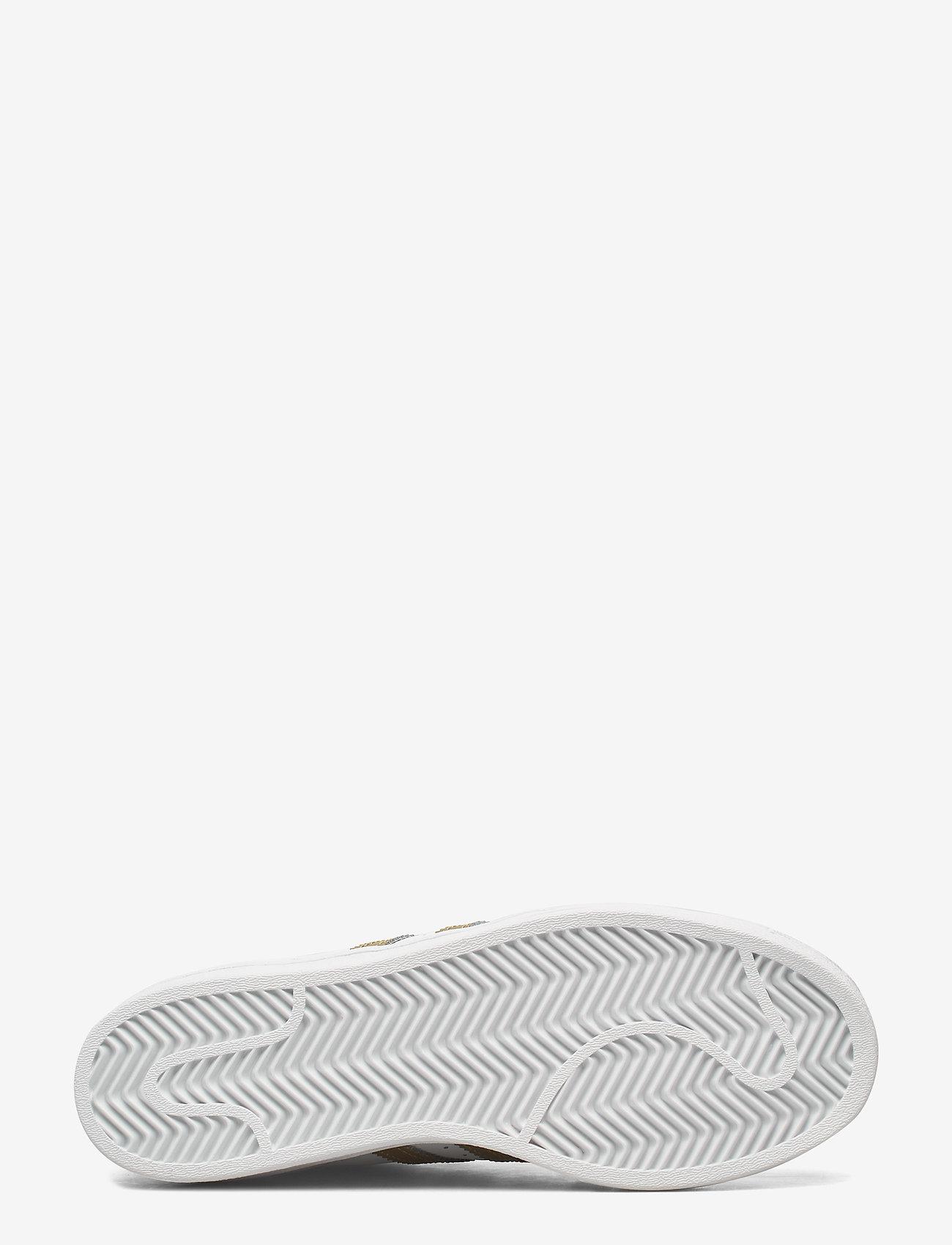 adidas Originals - Superstar  W - låga sneakers - ftwwht/goldmt/ftwwht - 4