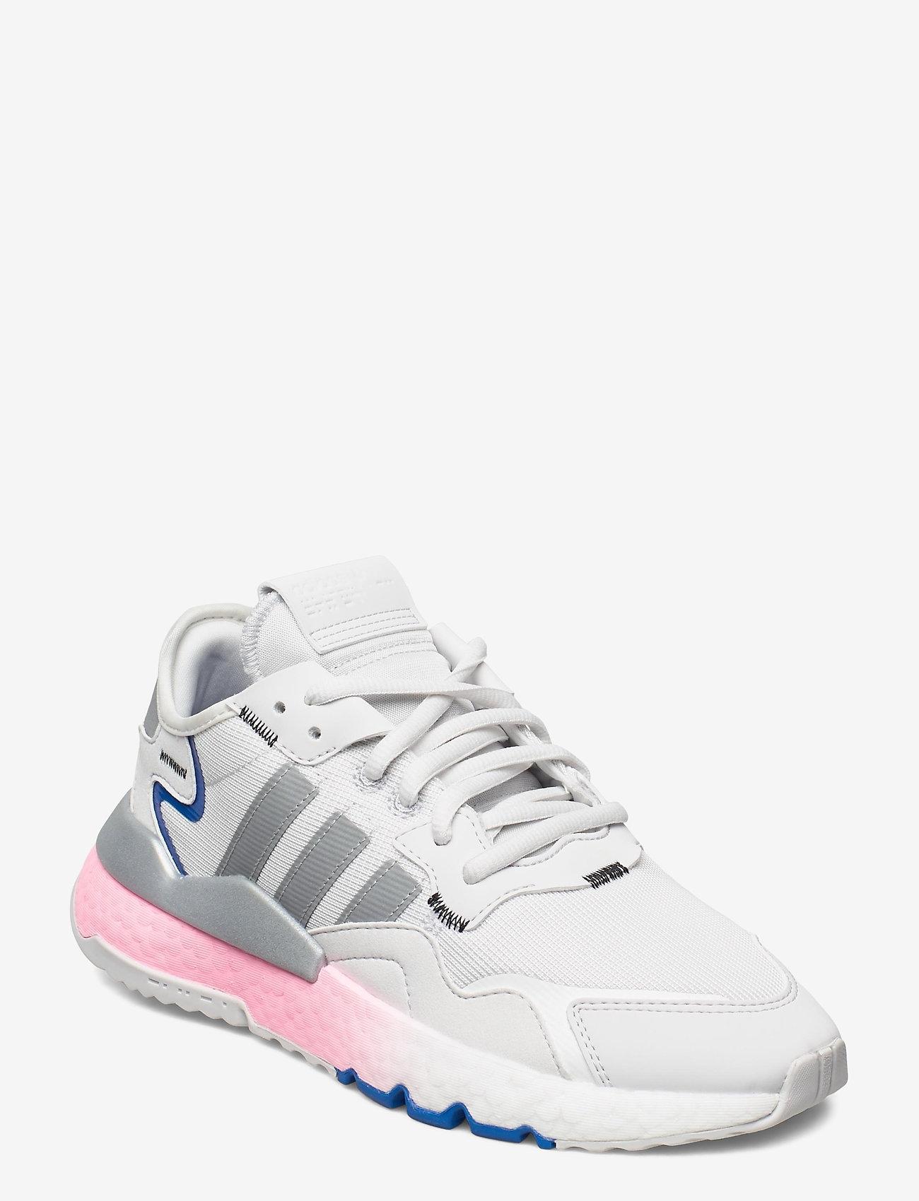 adidas Originals - NITE JOGGER W - chunky sneaker - crywht/silvmt/globlu - 0
