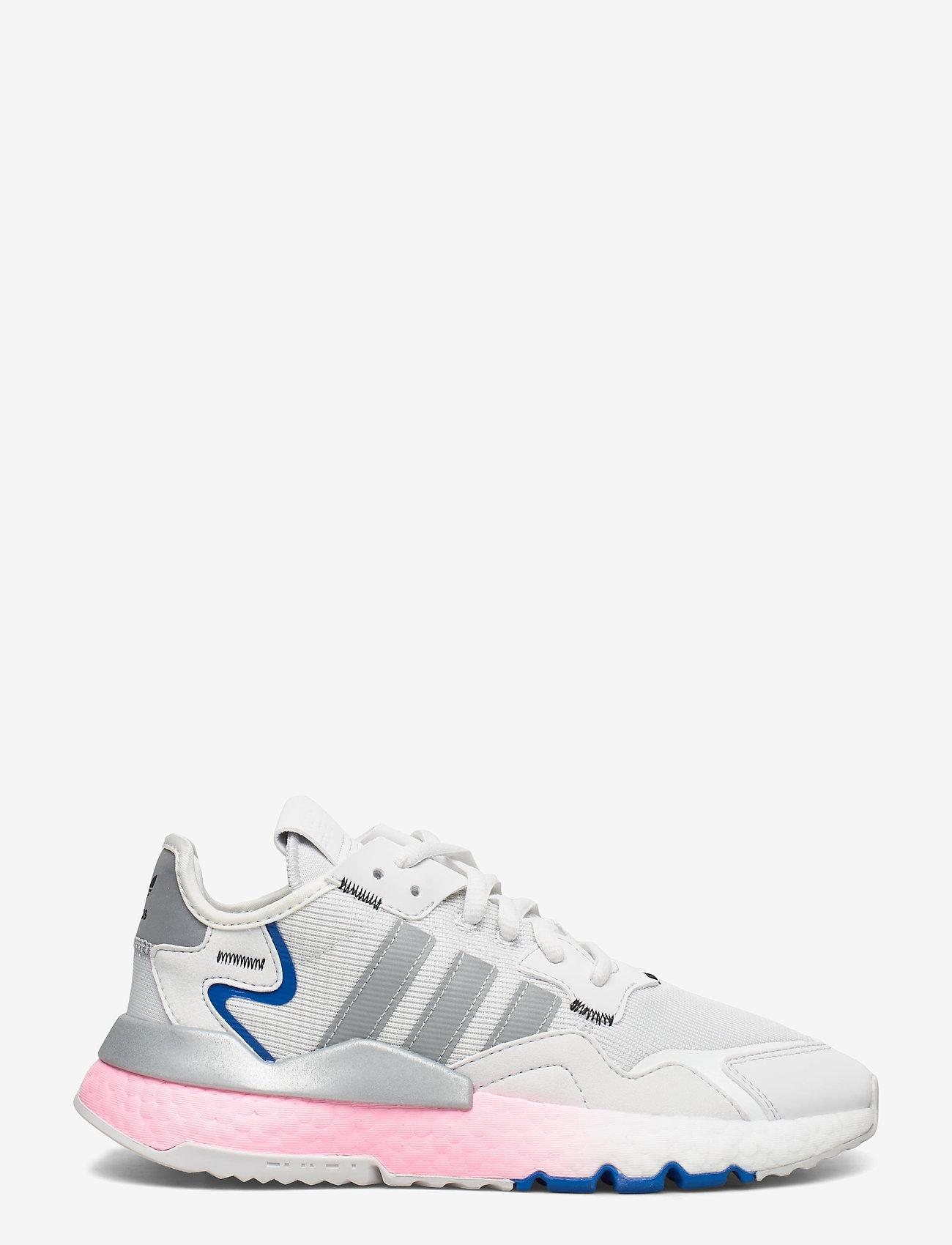 adidas Originals - NITE JOGGER W - chunky sneaker - crywht/silvmt/globlu - 1