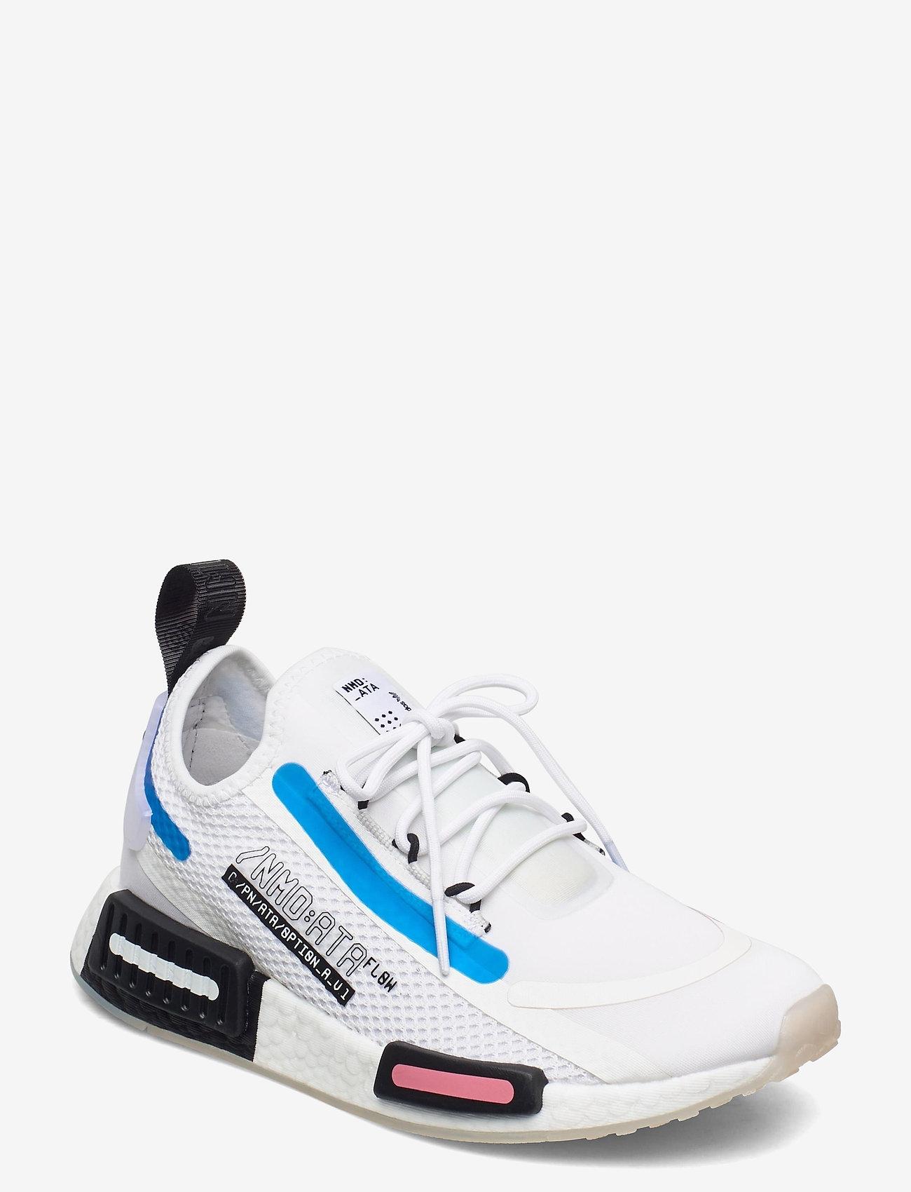 adidas Originals - NMD_R1 SPECTOO W - sneakers - ftwwht/ftwwht/cblack - 0