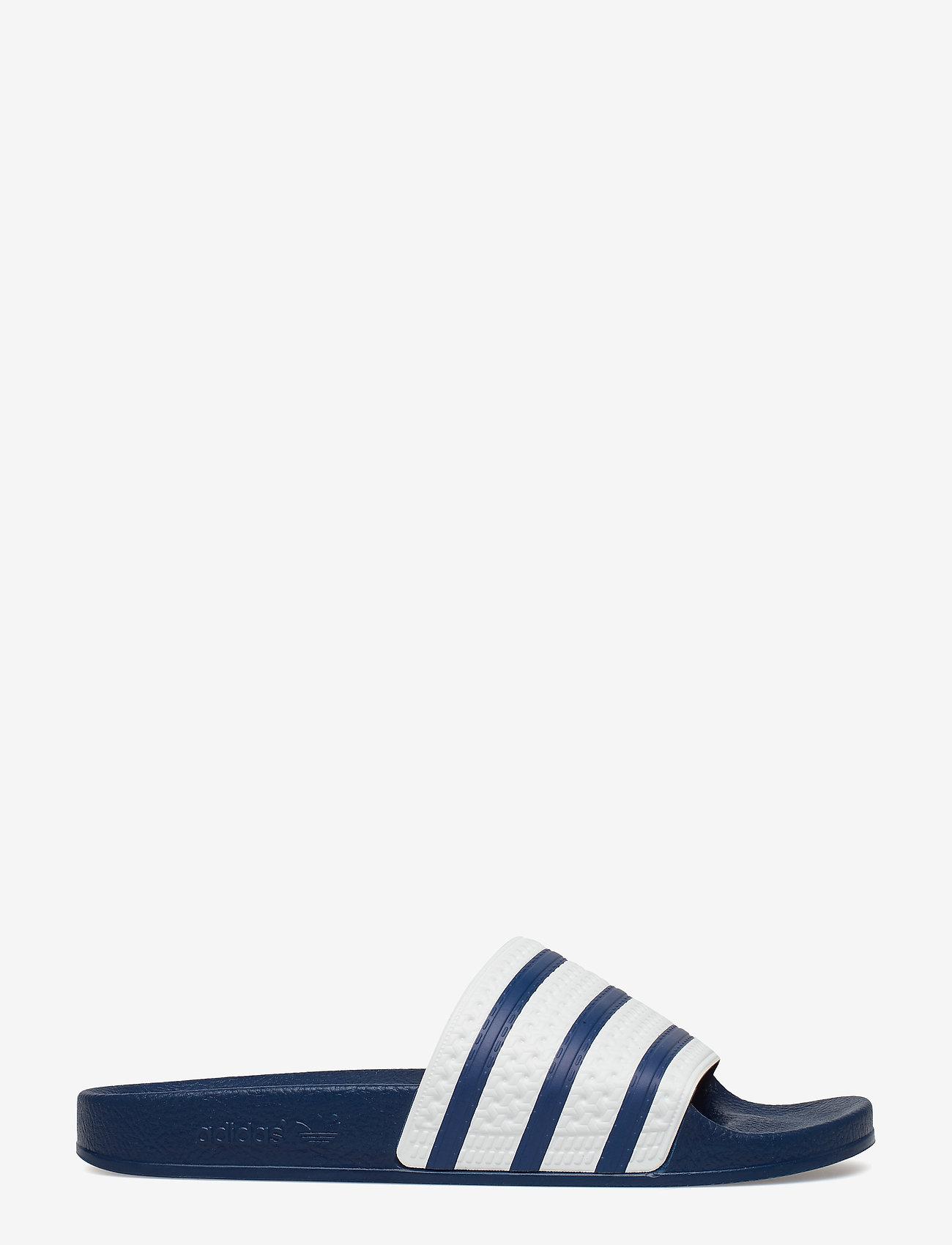 adidas Originals - ADILETTE - tenisówki - adiblu/wht/adiblu - 1