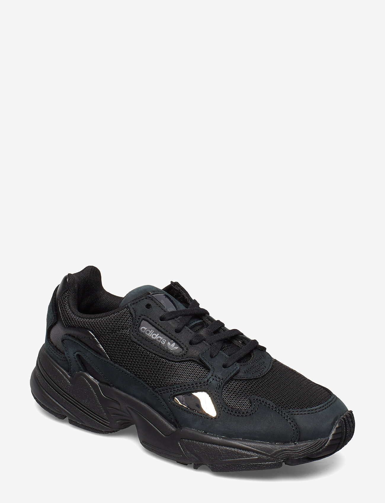 adidas Originals - FALCON W - chunky sneakers - cblack/cblack/grefiv - 0