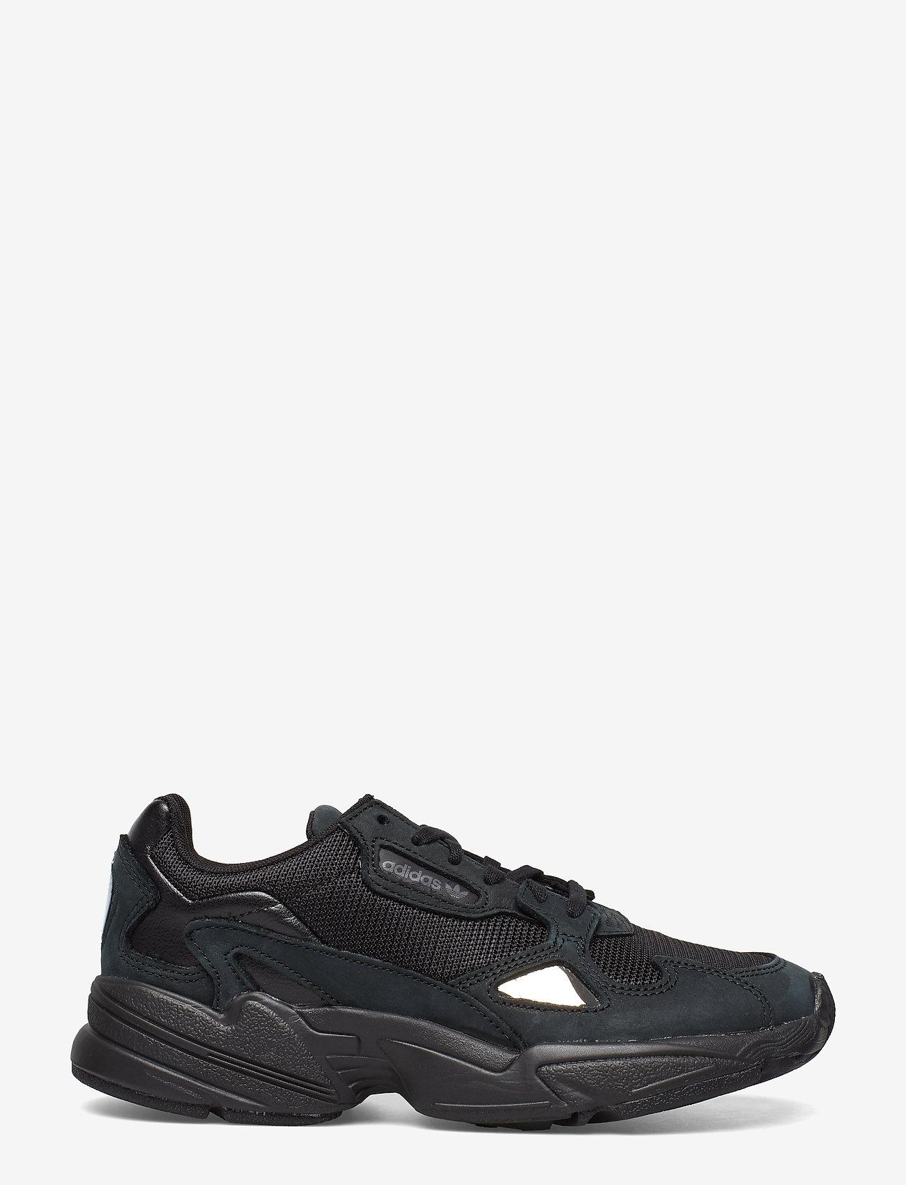 adidas Originals - FALCON W - chunky sneakers - cblack/cblack/grefiv - 1