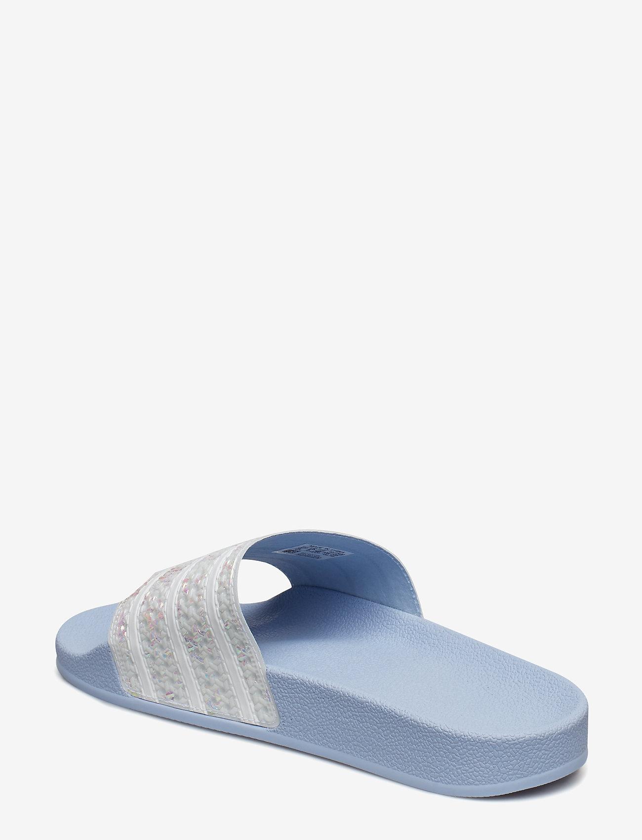 Adidas Originals Adilette W - Sandaler Periwi/ftwwht/periwi