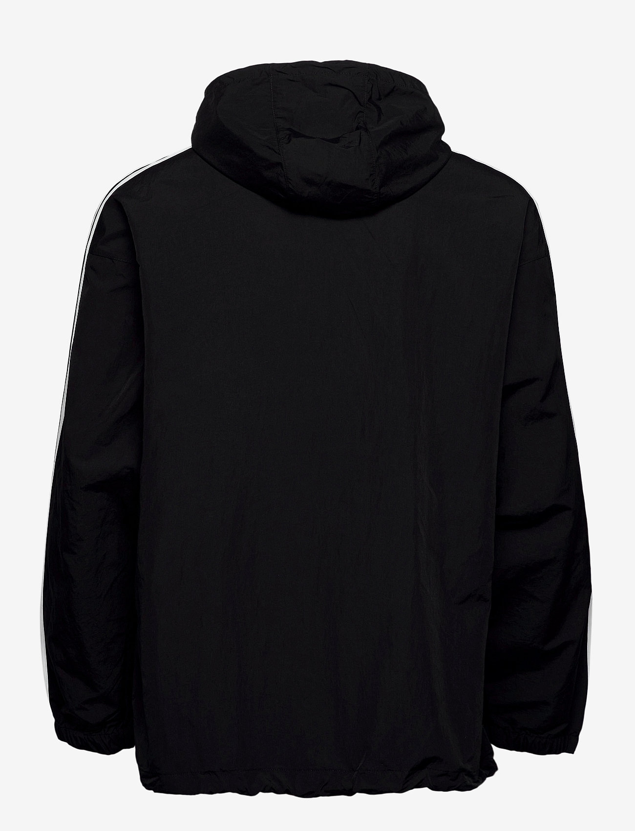 adidas Originals - CLASSICS ANORAK - anoraks - black/white - 1