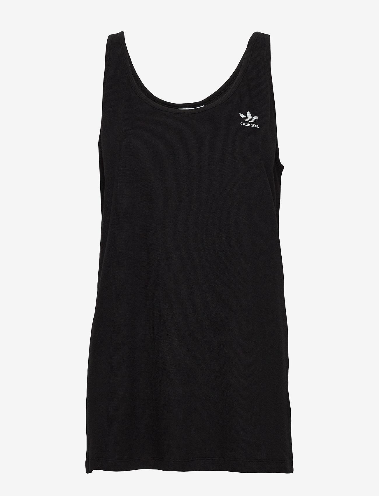 adidas Originals - TANK TOP - sporttoppar - black/white - 1