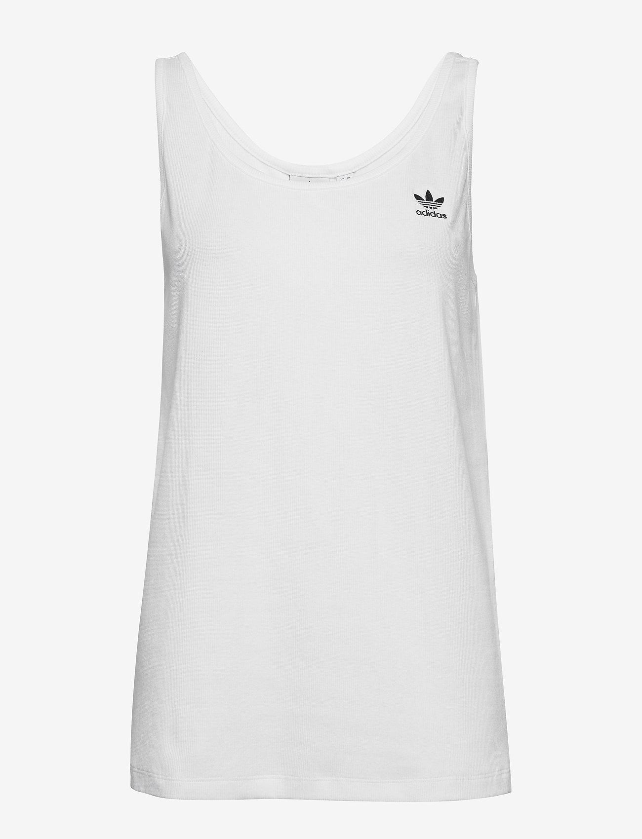 adidas Originals - TANK TOP - sportoberteile - white/black - 0