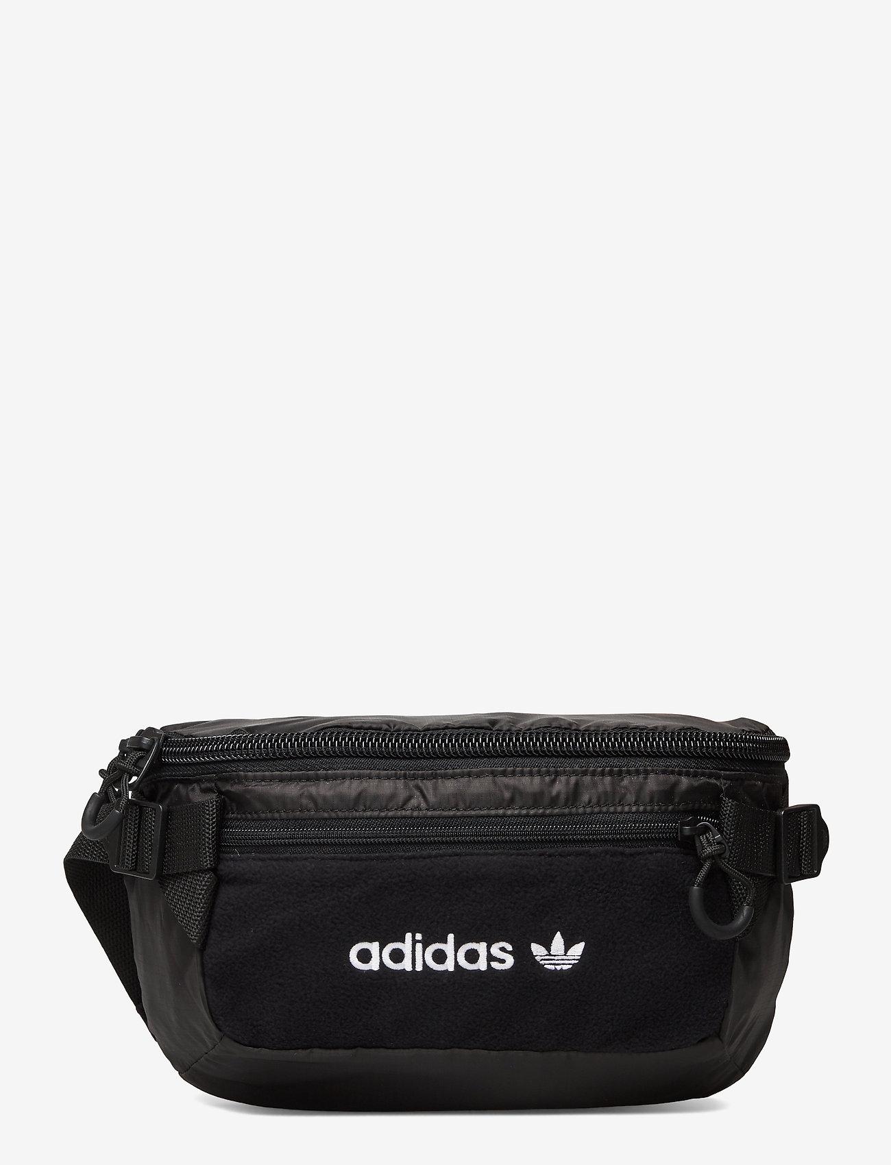 adidas Originals - PE WAISTBAG L - vyölaukut - black/white - 0