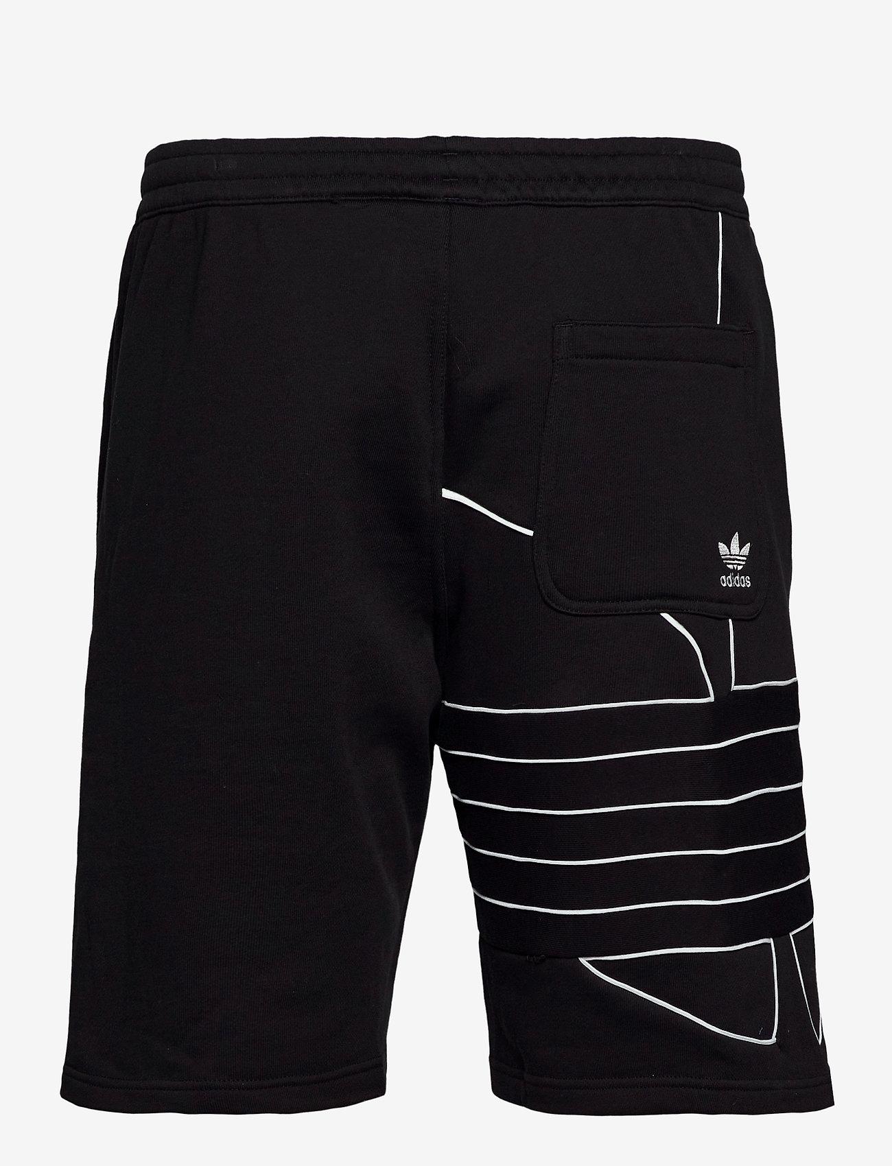 adidas Originals BG T OUT SHORT - Shorts BLACK/WHITE - Menn Klær