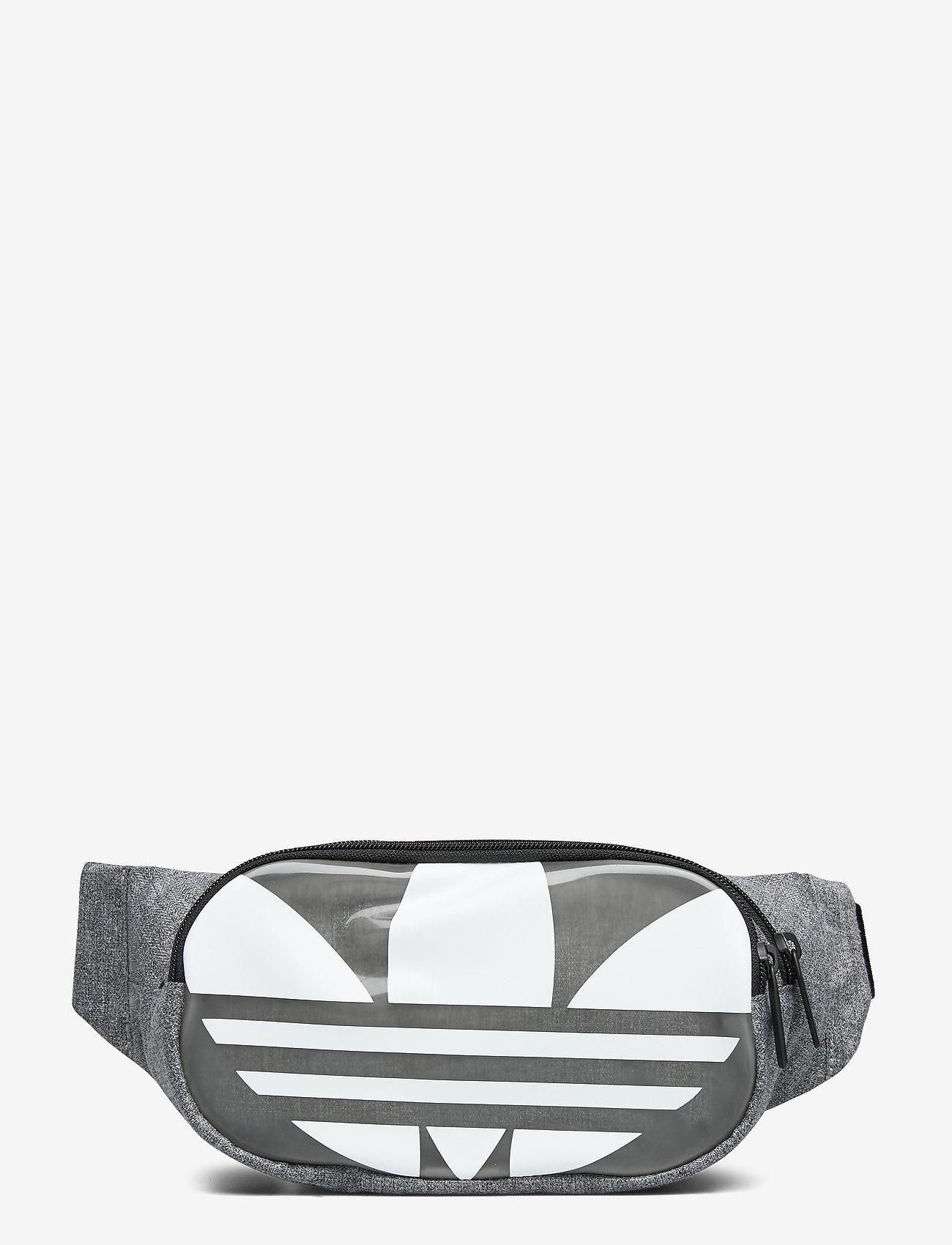 adidas Originals - ESSENTIAL WAIST - vyölaukut - black/white - 0