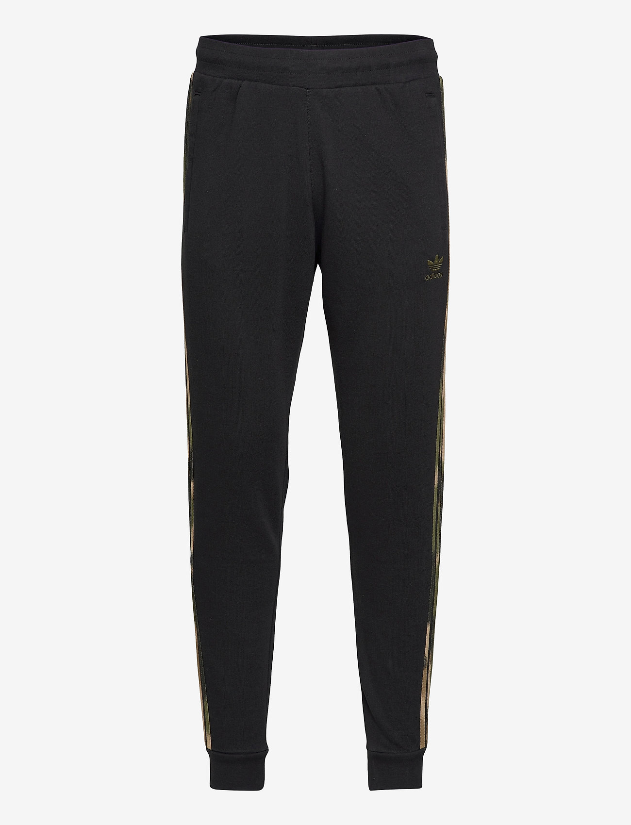 adidas Originals - Camo Stripes Sweat Pants - treenihousut - black/wilpin/multco - 0