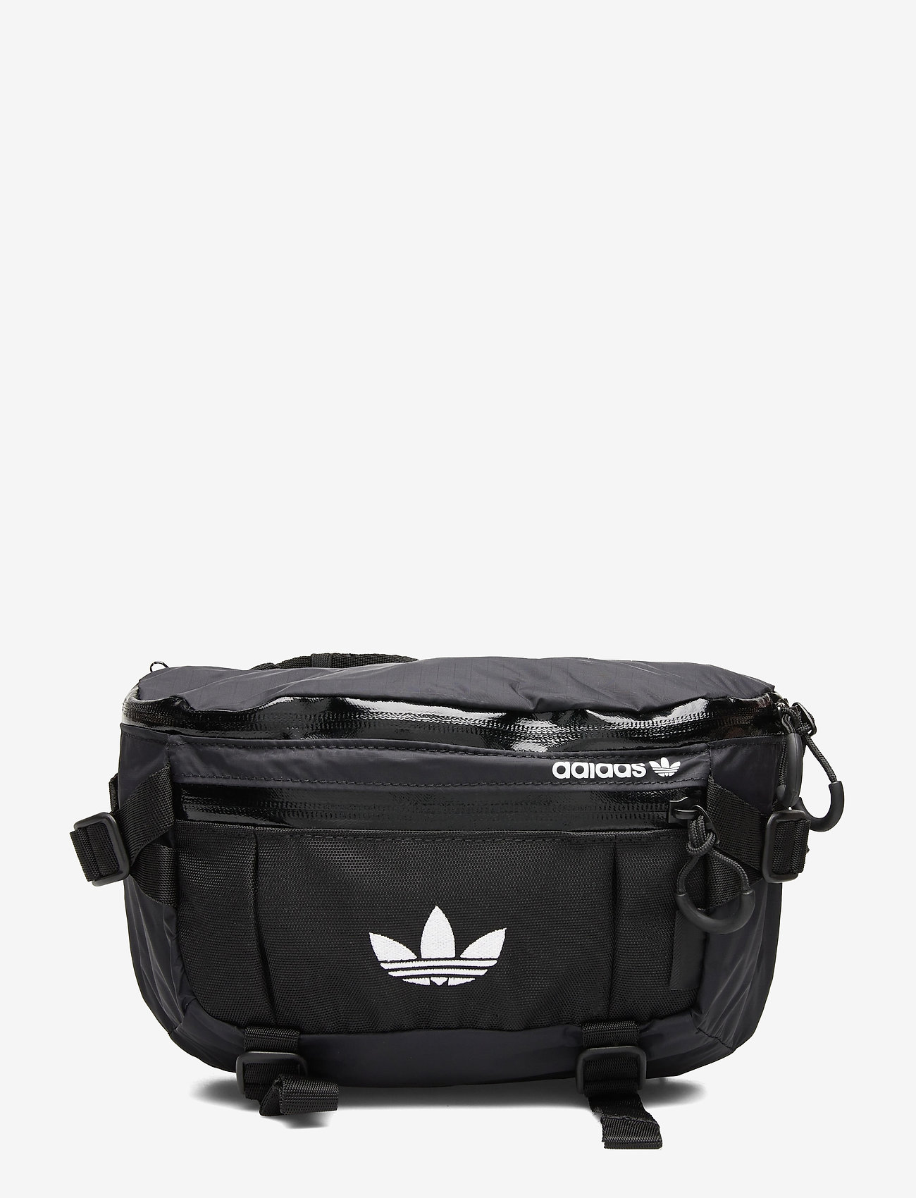 adidas Originals - ADV WAISTBAG L - midjeveske - black/white - 0