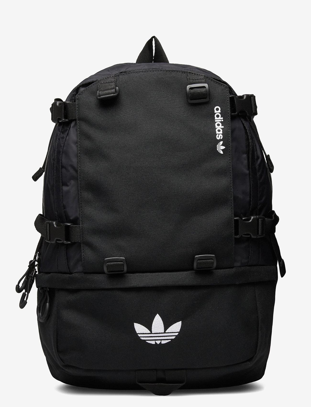 adidas Originals - Adventure Cordura Backpack - sportsbagger - black/white - 0