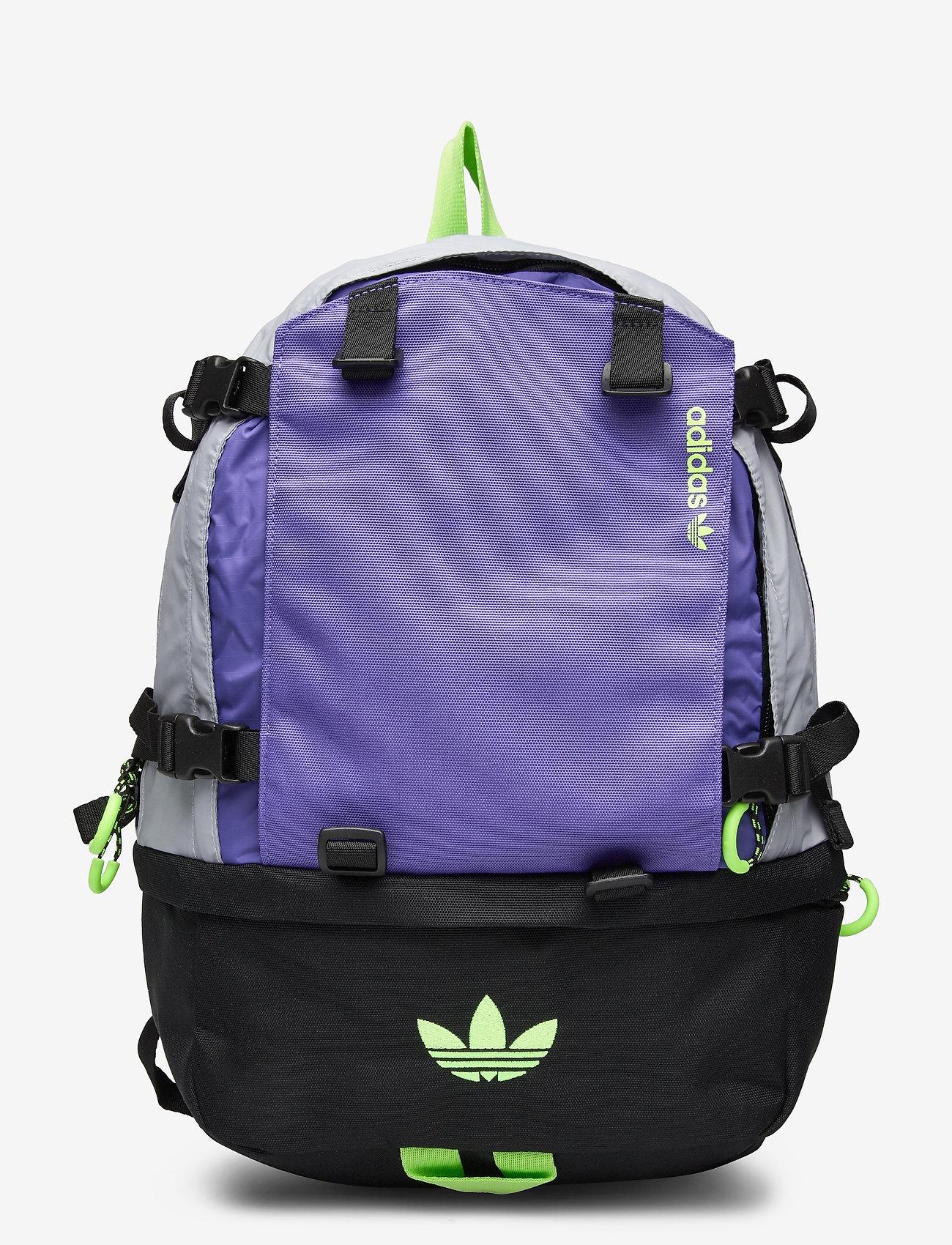 adidas Originals - Adventure Cordura Backpack - träningsväskor - halsil/purple/siggnr - 0