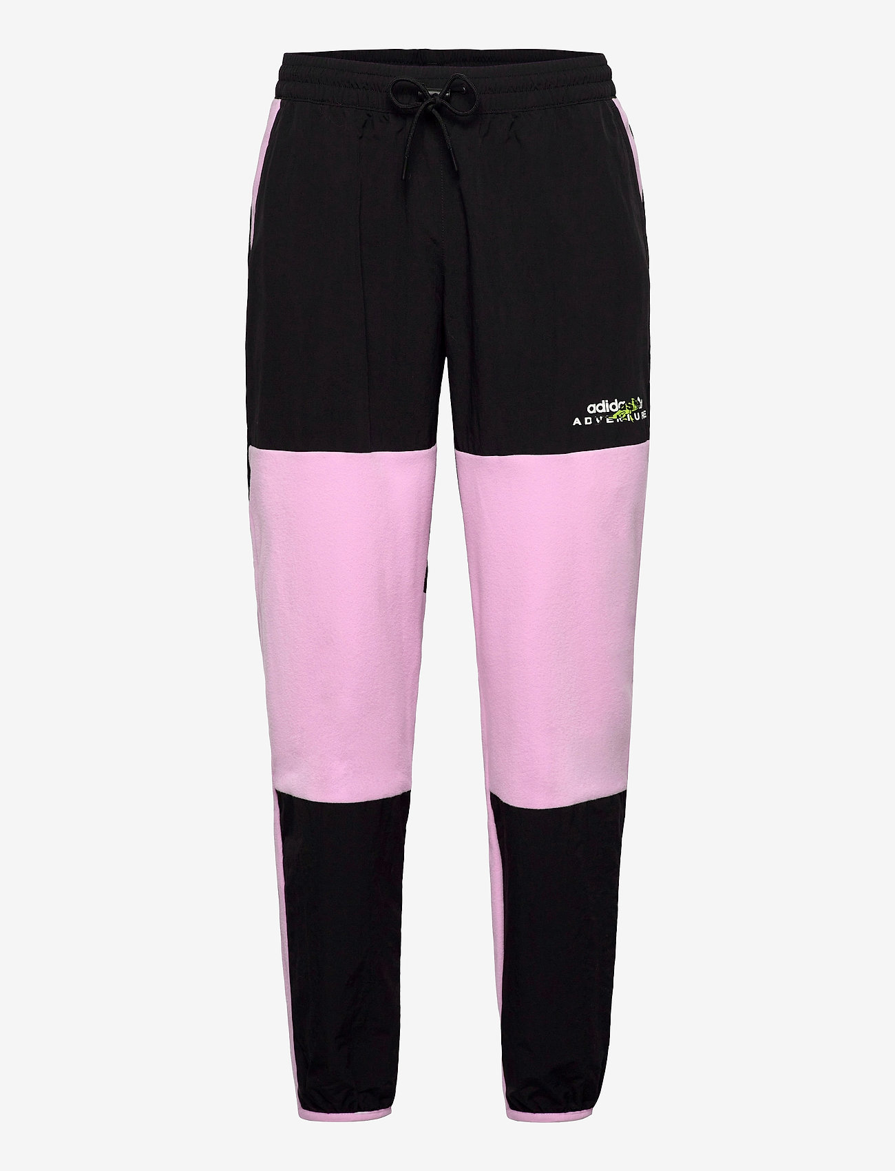 adidas Originals - Adventure Polar Fleece Colorblock Sweat Pants - treenihousut - clelil/black - 1