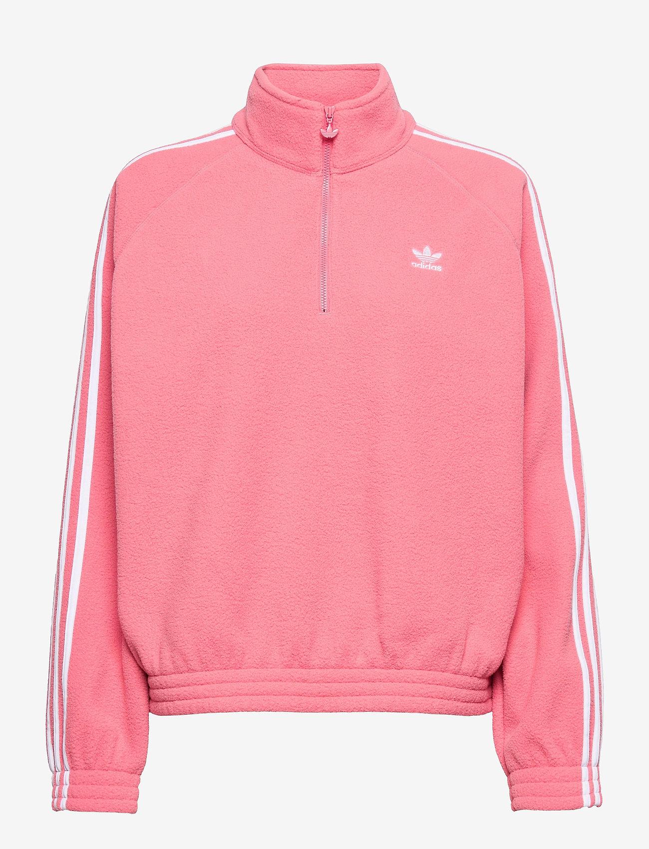 adidas Originals - Adicolor Classics Polar Fleece Half-Zip Sweatshirt W - fleece - hazros - 1