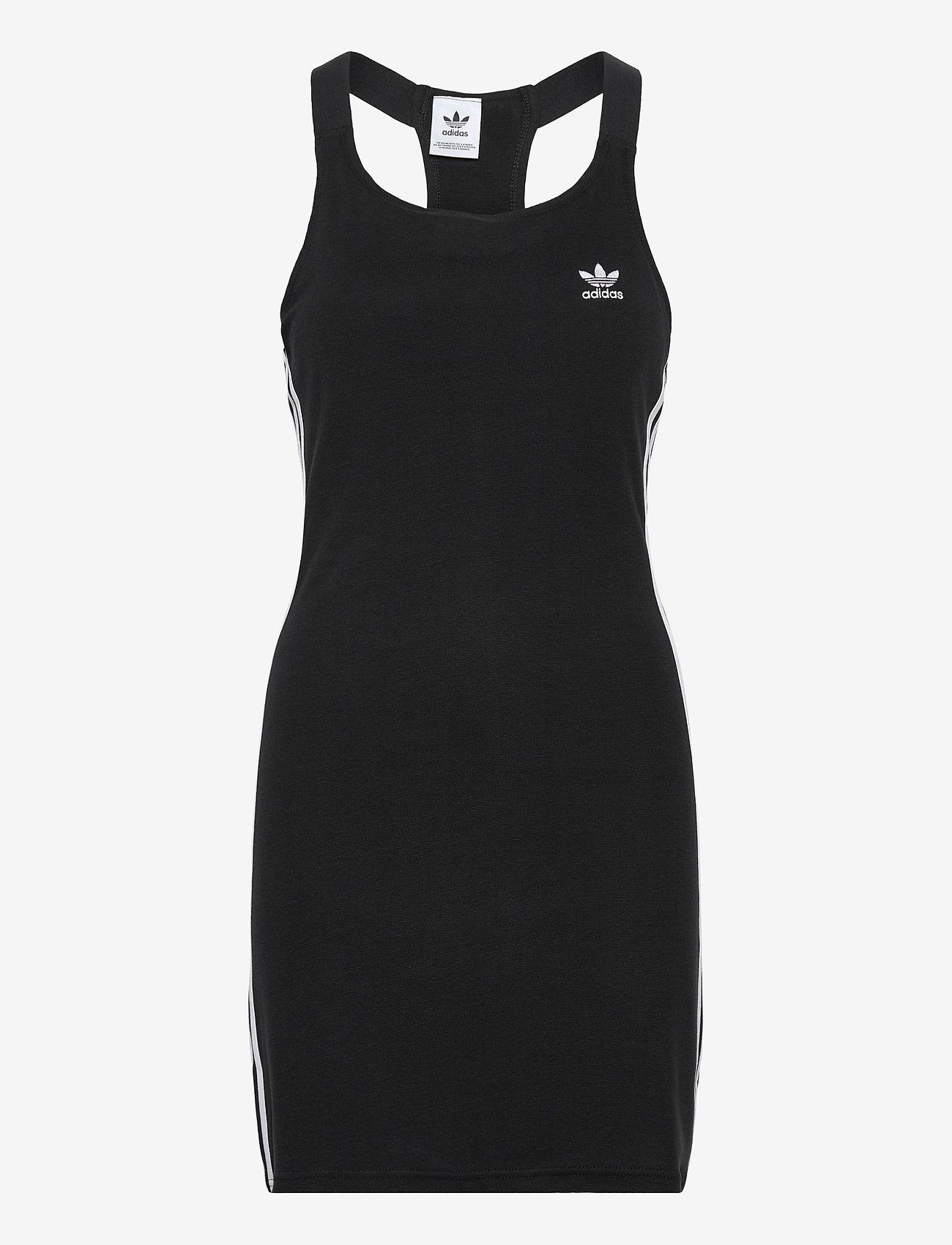 adidas Originals - Adicolor Classics Racerback Dress W - bodycon jurken - black - 1