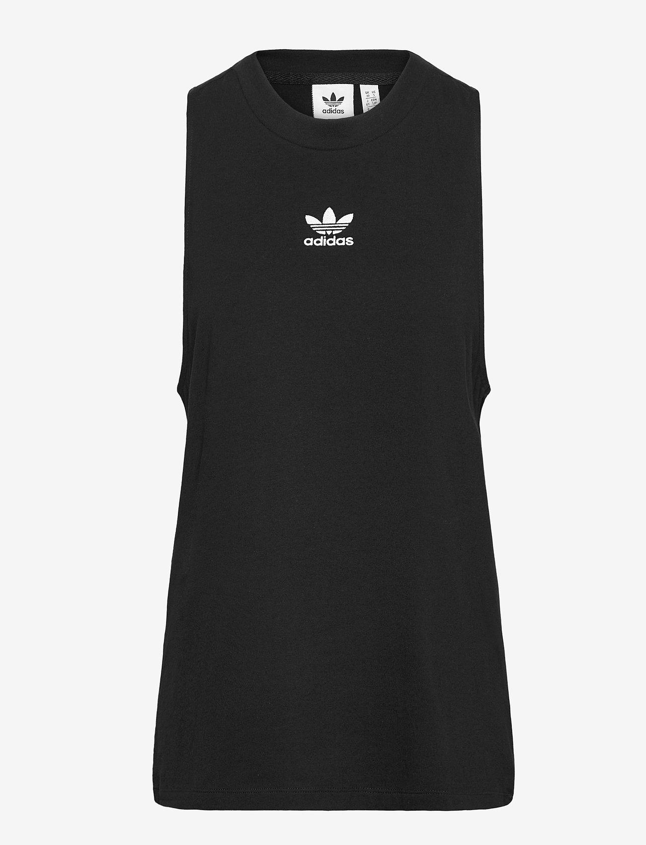 adidas Originals - Adicolor Classics Loose Tank Top W - sportieve tops - black - 1