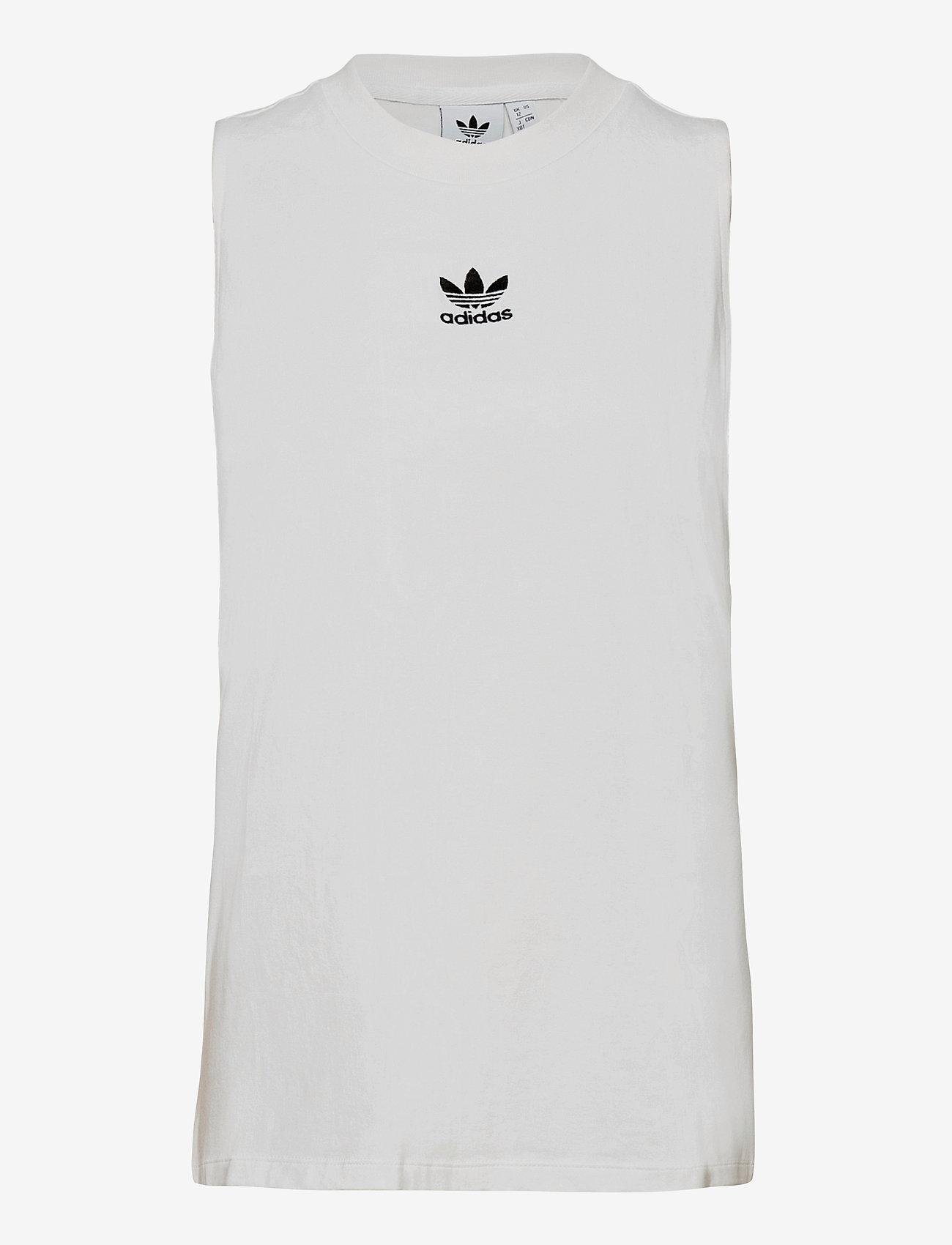 adidas Originals - Adicolor Classics Loose Tank Top W - sportieve tops - white - 1