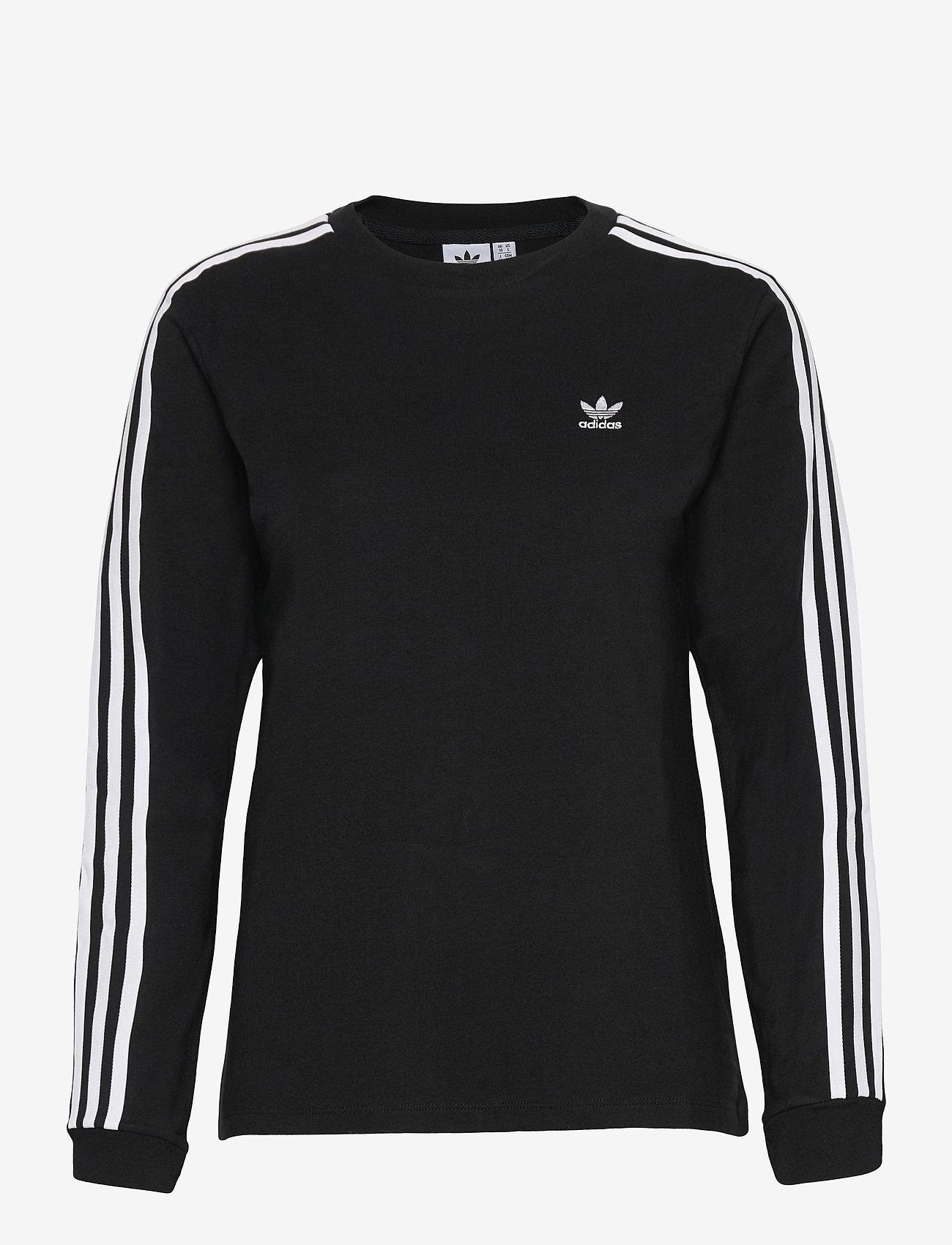 adidas Originals - Adicolor Classics Long Sleeve T-Shirt W - langærmede toppe - black - 1