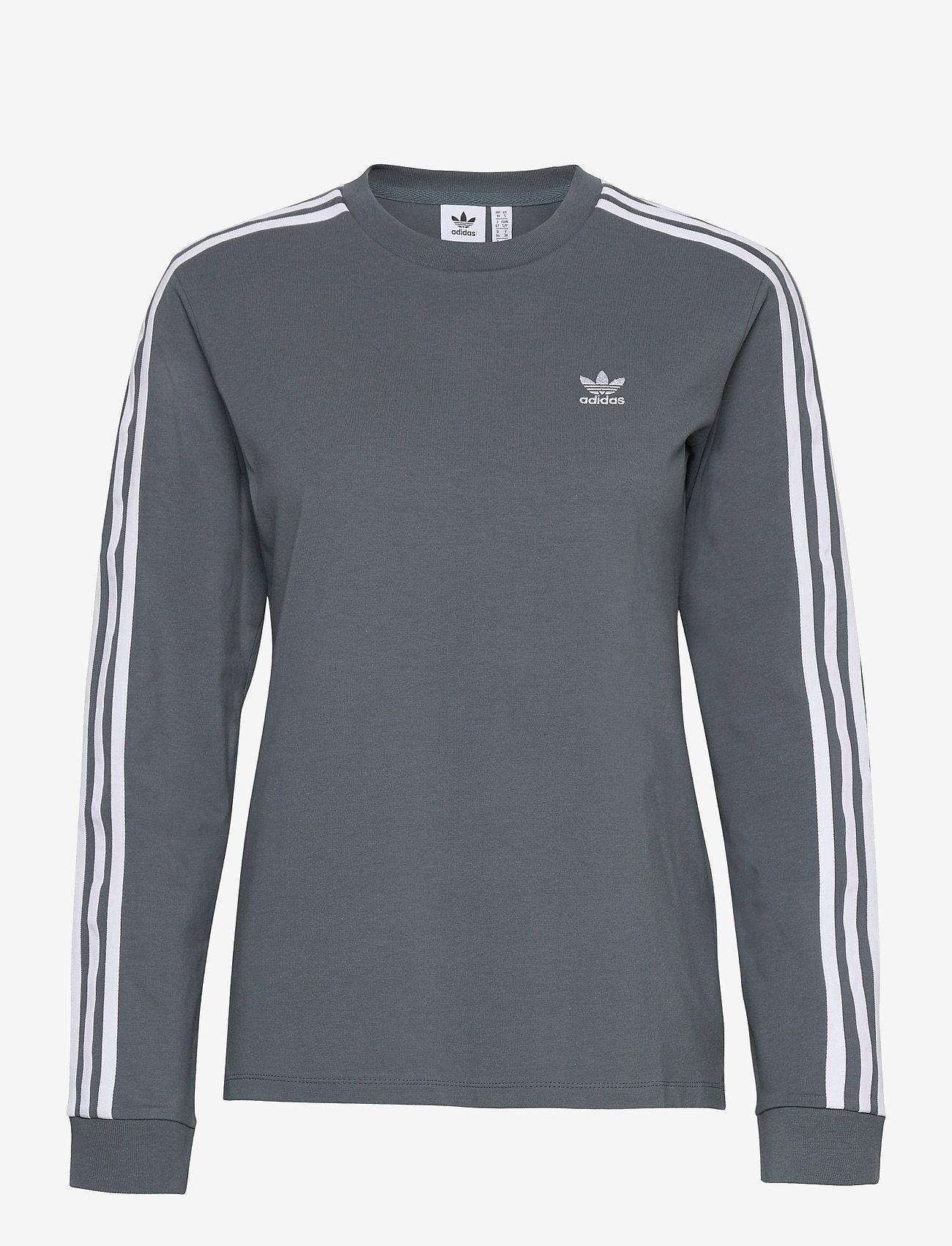 adidas Originals - Adicolor Classics Long Sleeve T-Shirt W - langærmede toppe - bluoxi - 1