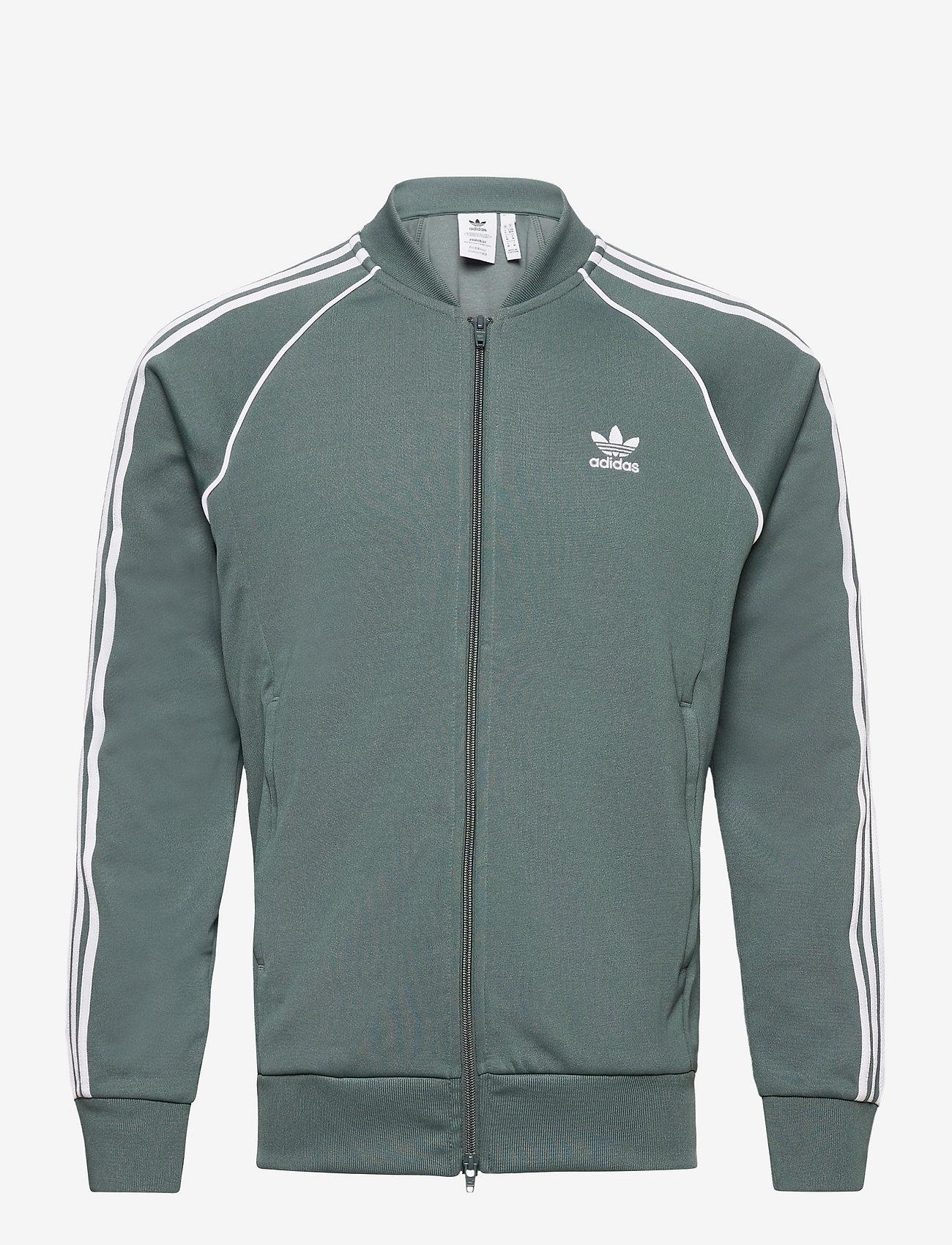 adidas Originals - Adicolor Classics Primeblue SST Track Jacket - basic sweatshirts - bluoxi - 1