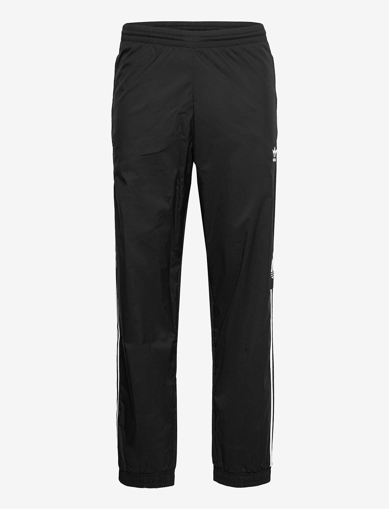 adidas Originals - Adicolor 3D Trefoil 3-Stripes Track Pants - treenihousut - black - 1