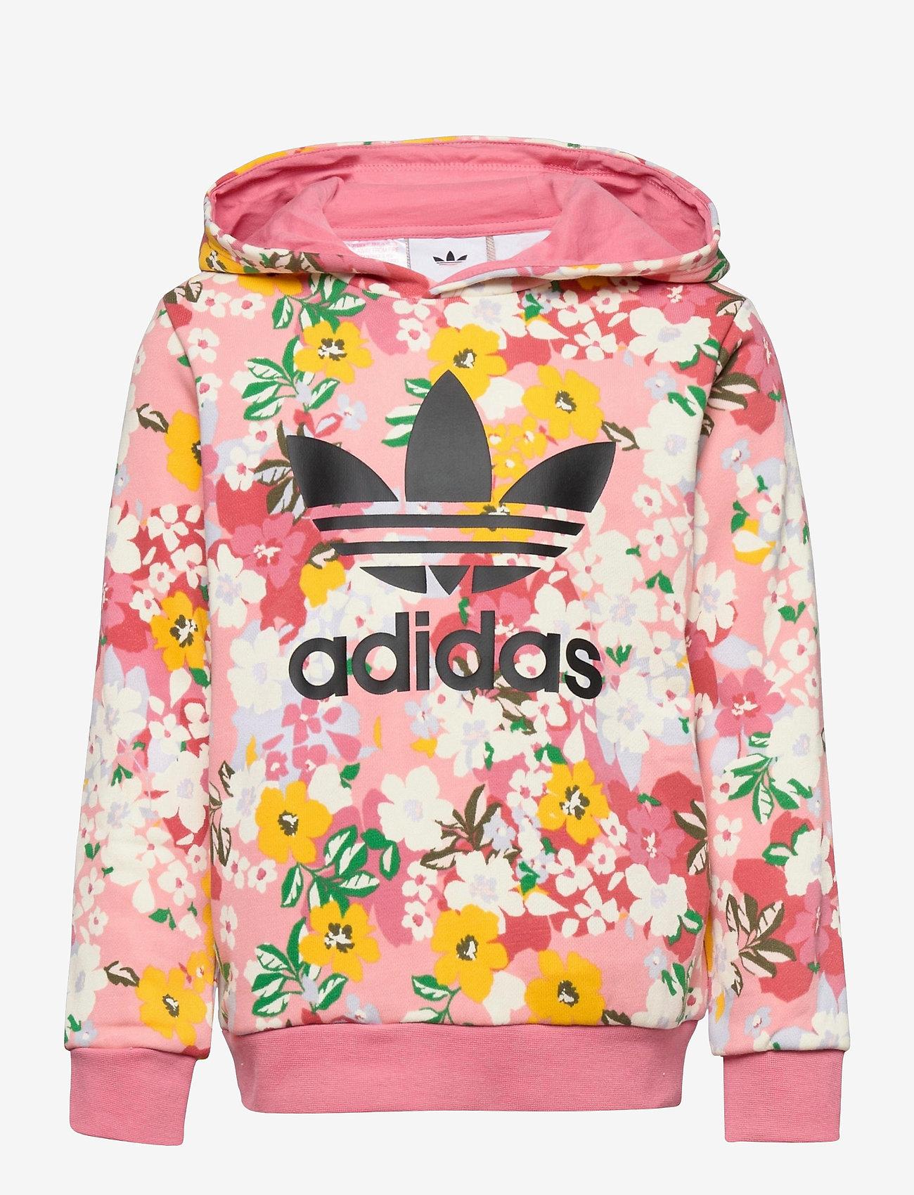 adidas Originals - HER Studio London Floral Hoodie - hoodies - trapnk/multco/black - 0