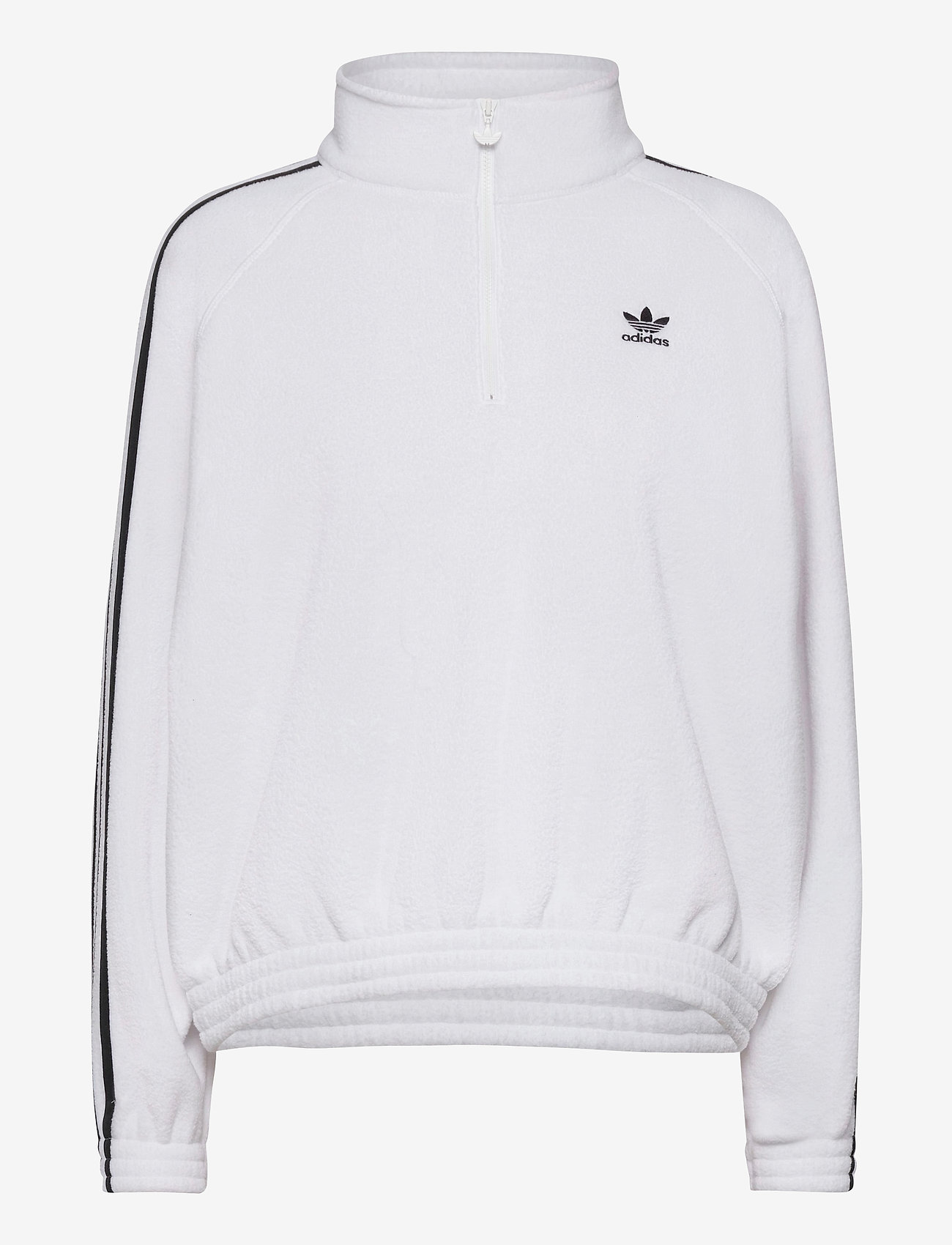 adidas Originals - Adicolor Classics Polar Fleece Half-Zip Sweatshirt W - fleece - white/black - 1