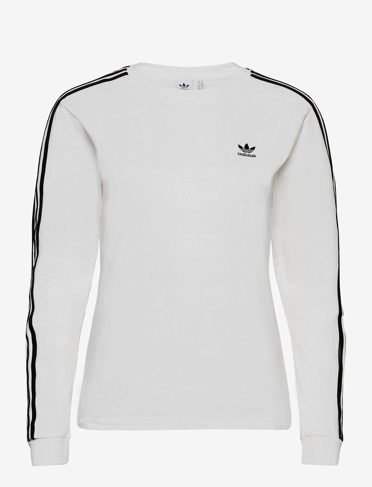adidas Originals - Adicolor Classics Long Sleeve T-Shirt W - topjes met lange mouwen - white/black - 0