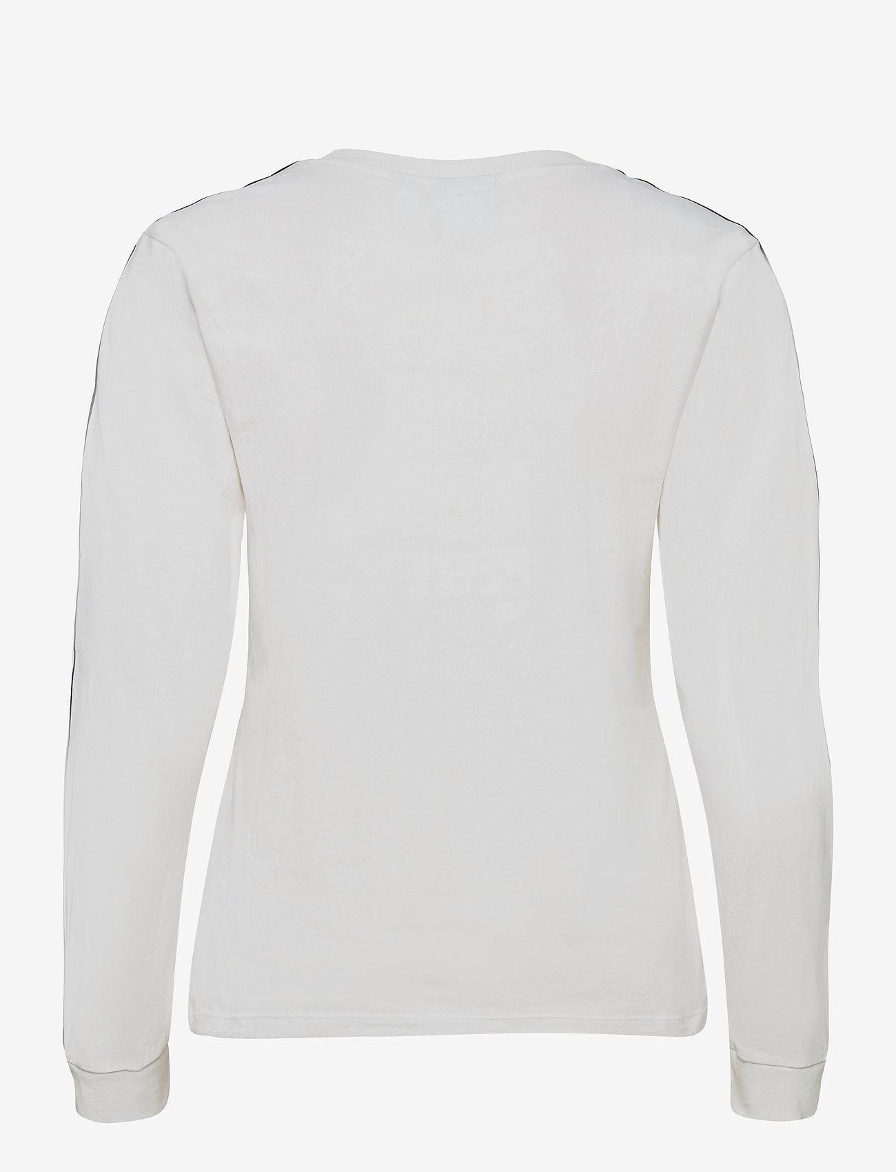 adidas Originals - Adicolor Classics Long Sleeve T-Shirt W - topjes met lange mouwen - white/black - 1