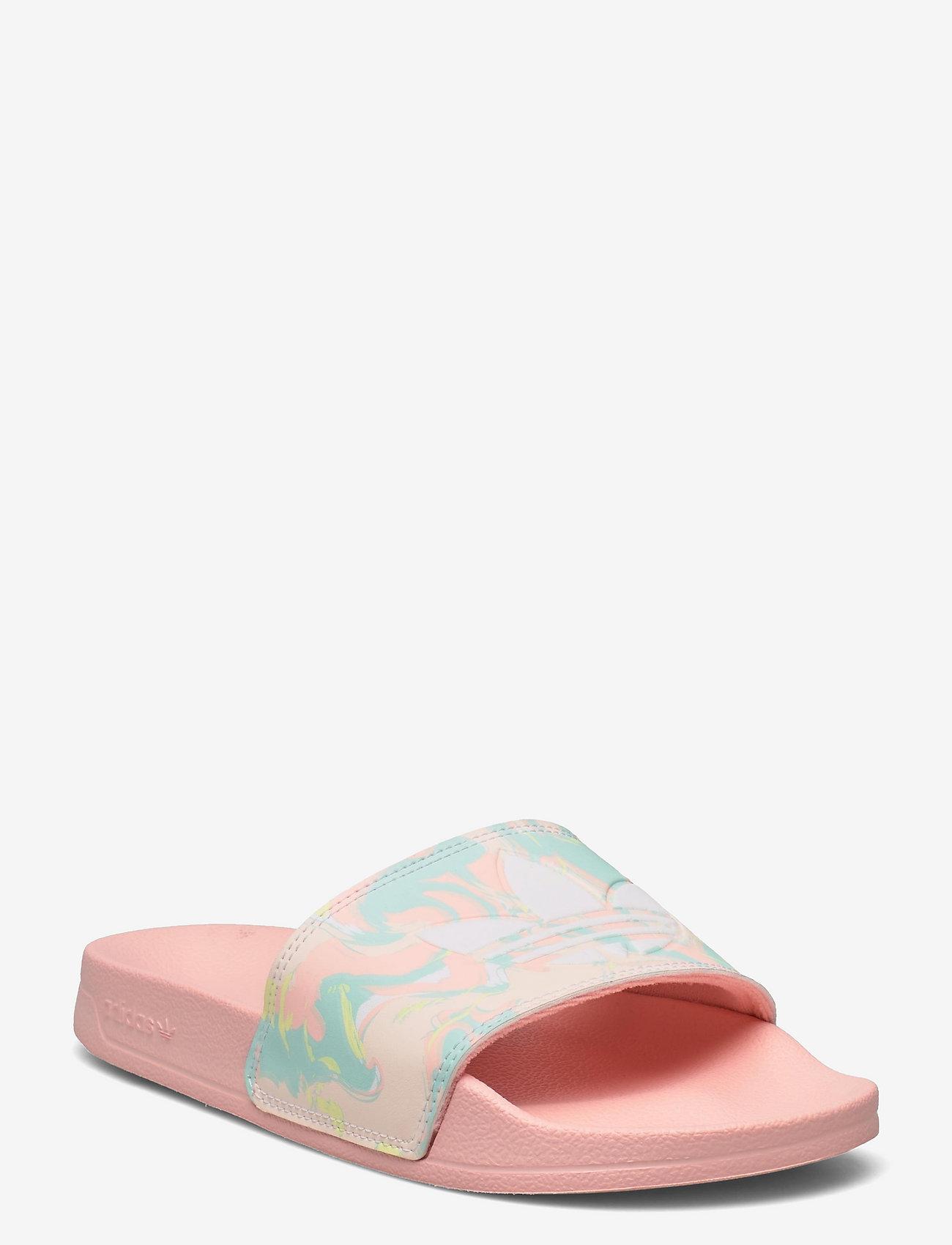 adidas Originals - Adilette Lite Slides - pool sliders - hazcor/ftwwht/hazcor - 0