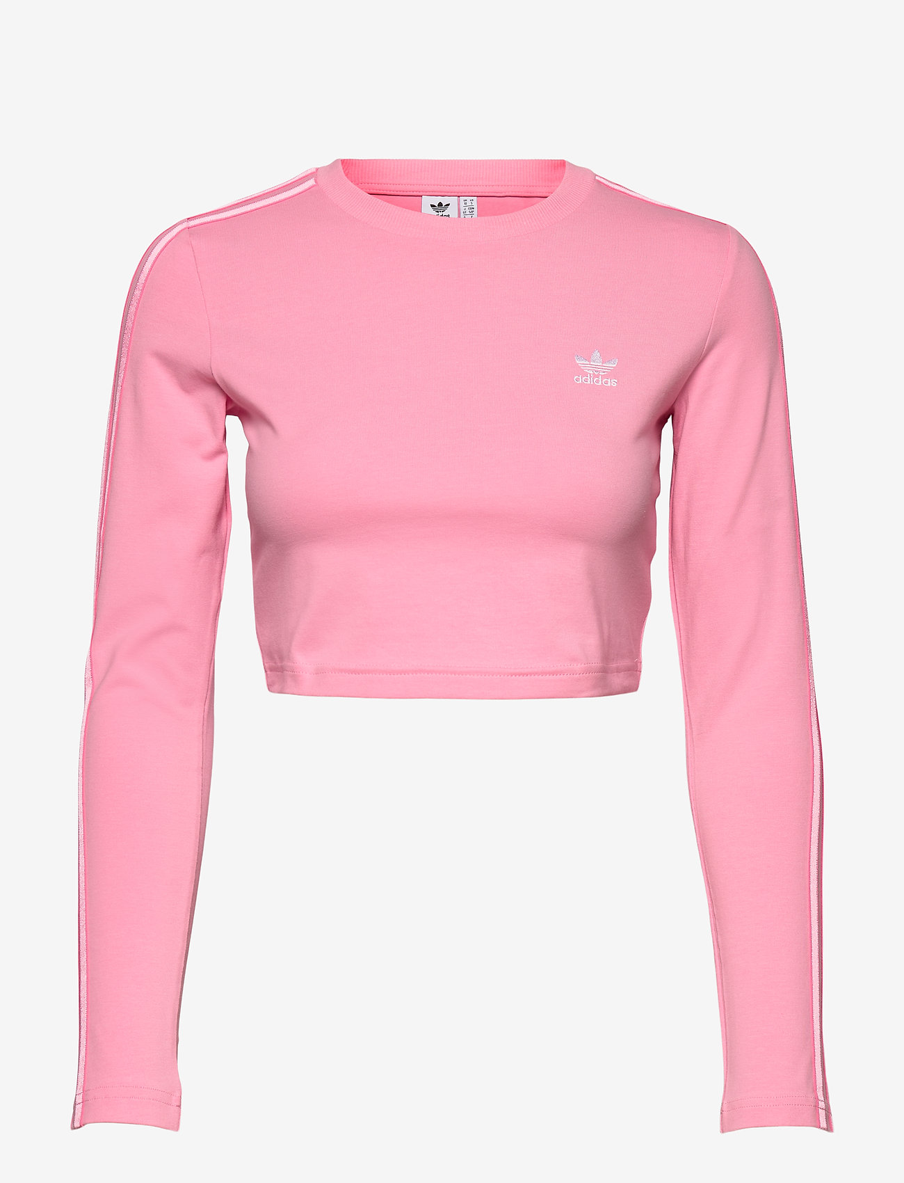 adidas Originals - Crop Long Sleeve T-Shirt W - topjes met lange mouwen - ltpink - 1