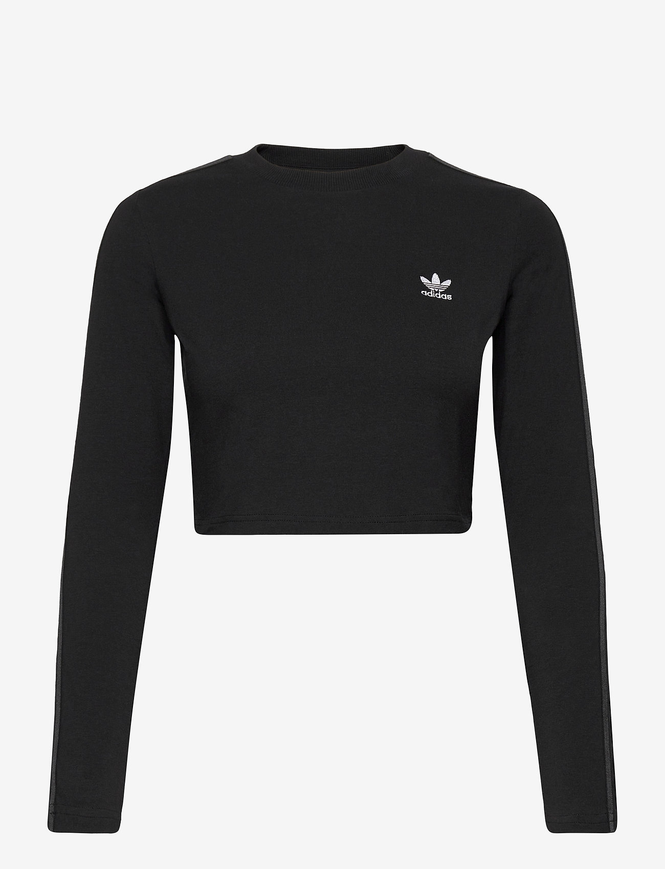 adidas Originals - Crop Long Sleeve T-Shirt W - topjes met lange mouwen - black - 1
