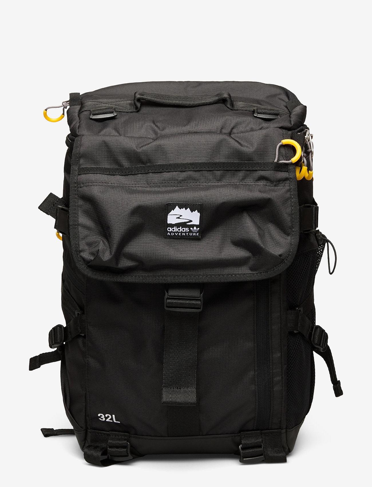 adidas Originals - Adventure Top Loader Bag - nyheter - black/gloprp/white - 0
