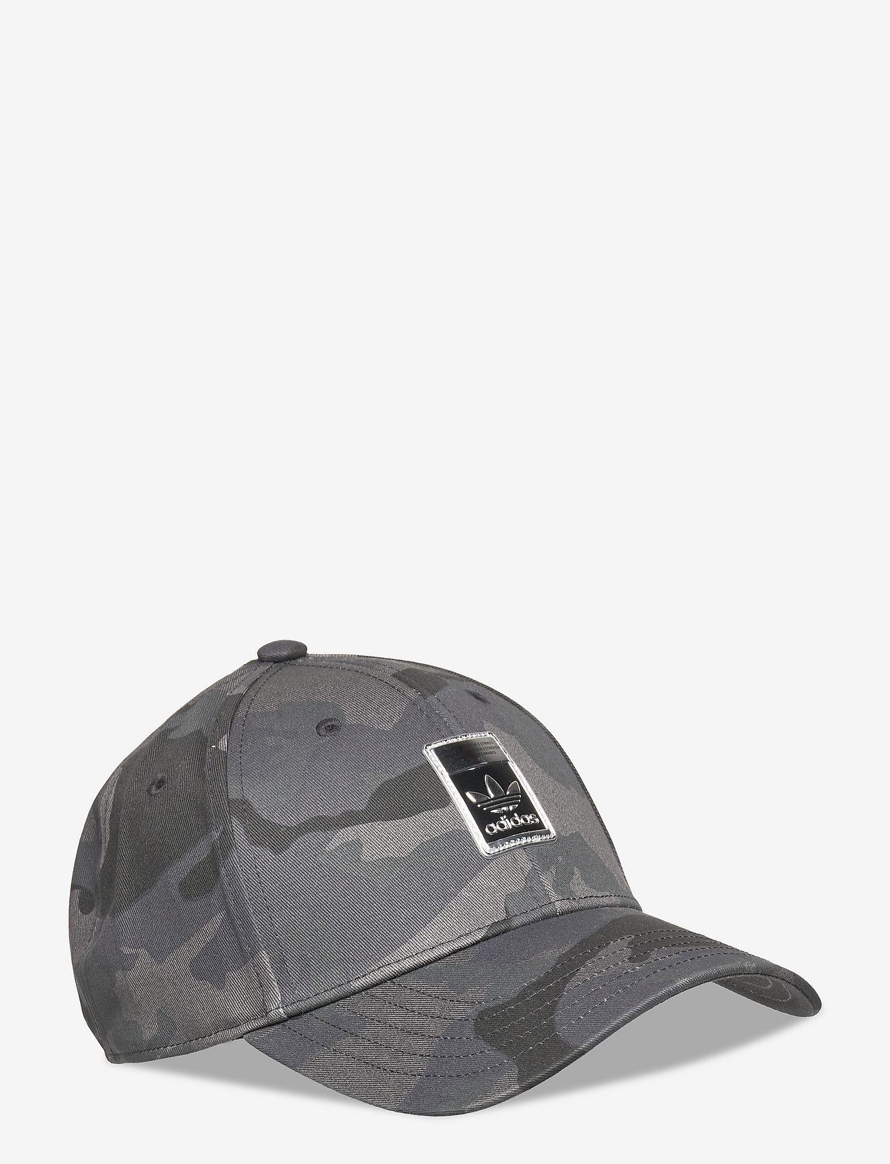 adidas Originals - Camo Baseball Cap - kasketter - gresix/black/legink/c - 0