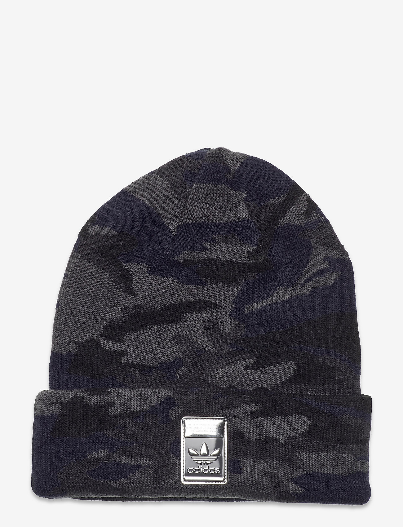 adidas Originals - Camo Knit-Cuff Beanie - mössor - gresix/black/legink/c - 0