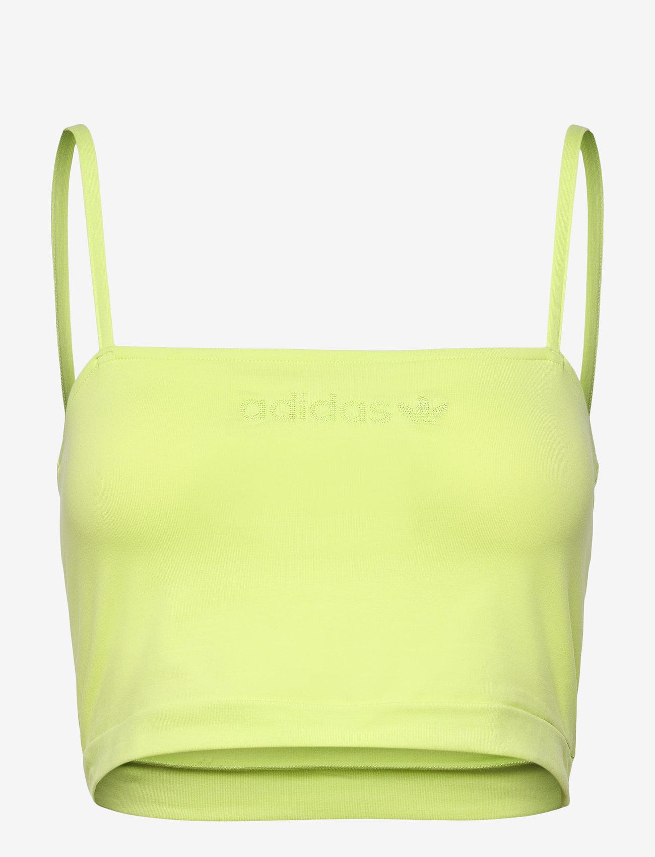 adidas Originals - Spaghetti Tank Top W - navel shirts - sefrye - 1