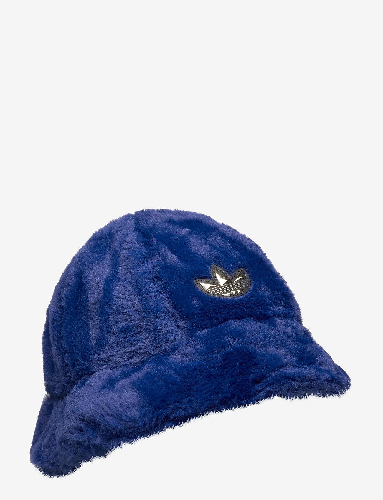 adidas Originals - SPRT Faux Fur Bucket Hat - bucket hats - vicblu - 0