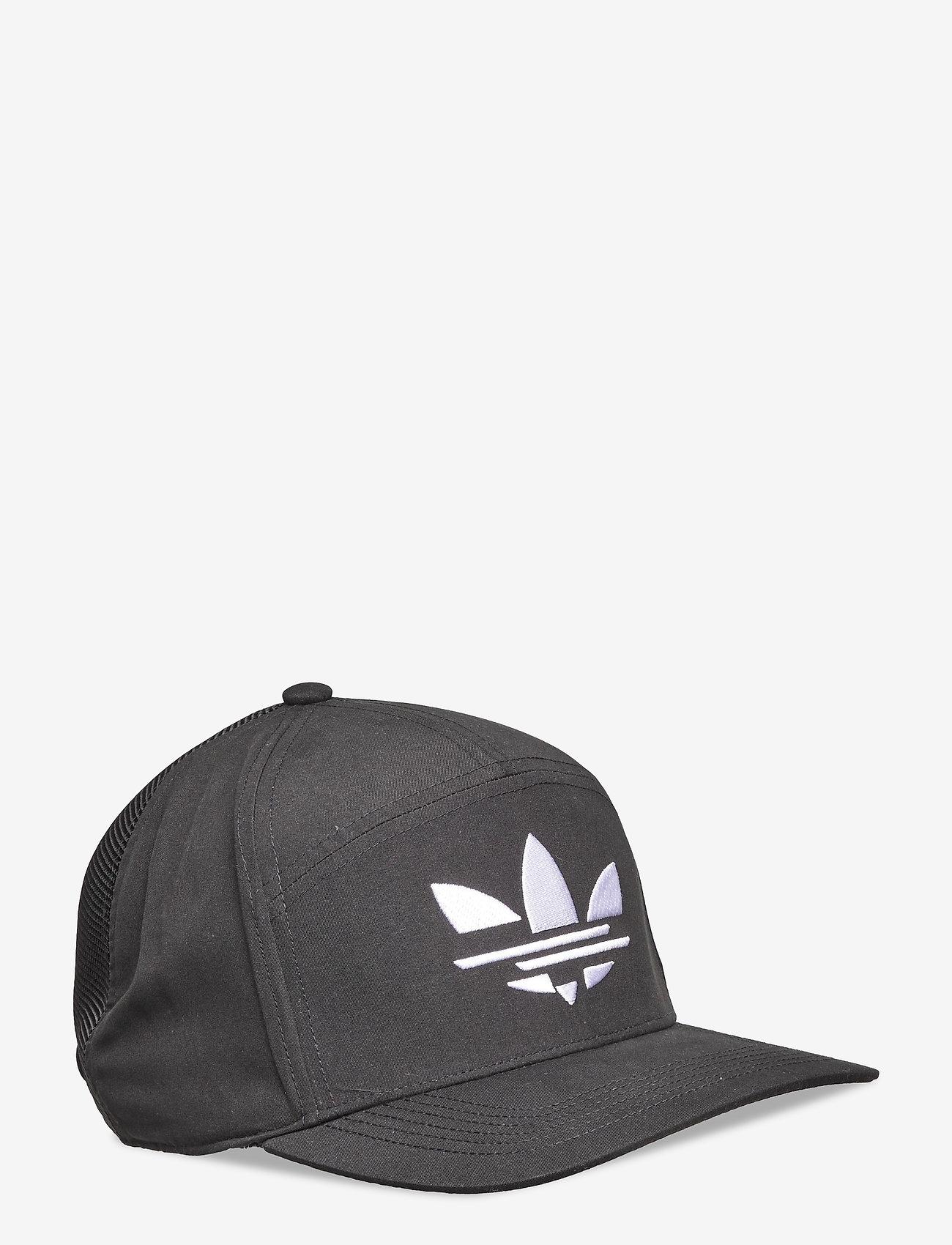 adidas Originals - Adicolor Snapback Cap - kasketter - black - 0
