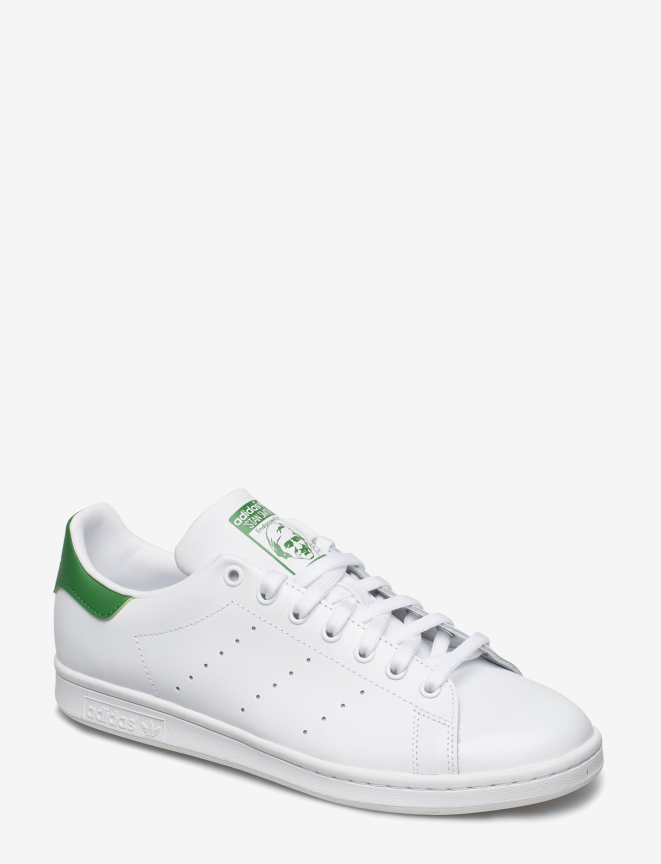 adidas Originals - STAN SMITH - lav ankel - ftwwht/cwhite/green - 0