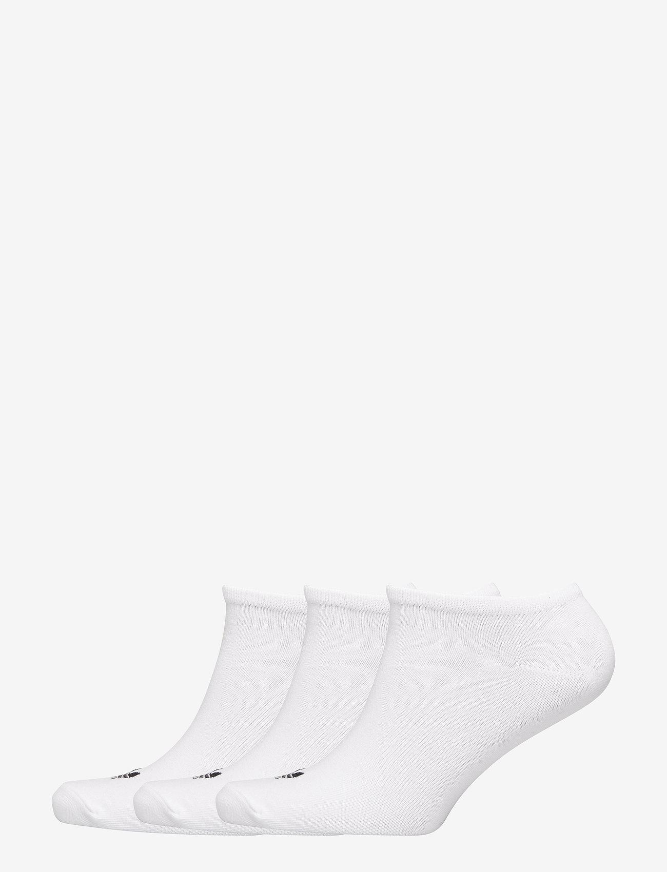 adidas Originals - TREFOIL LINER - steps & footies - white/white/black - 0