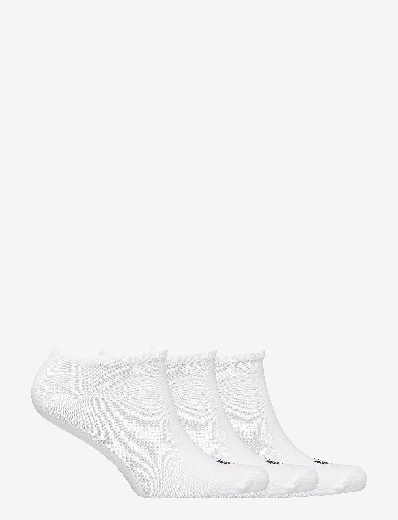 adidas Originals - TREFOIL LINER - steps & footies - white/white/black - 1