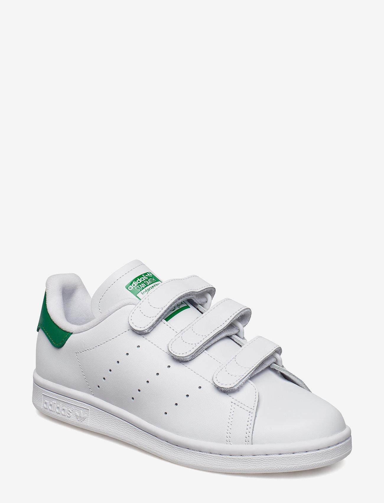 adidas Originals - STAN SMITH CF - lav ankel - ftwwht/ftwwht/green - 0
