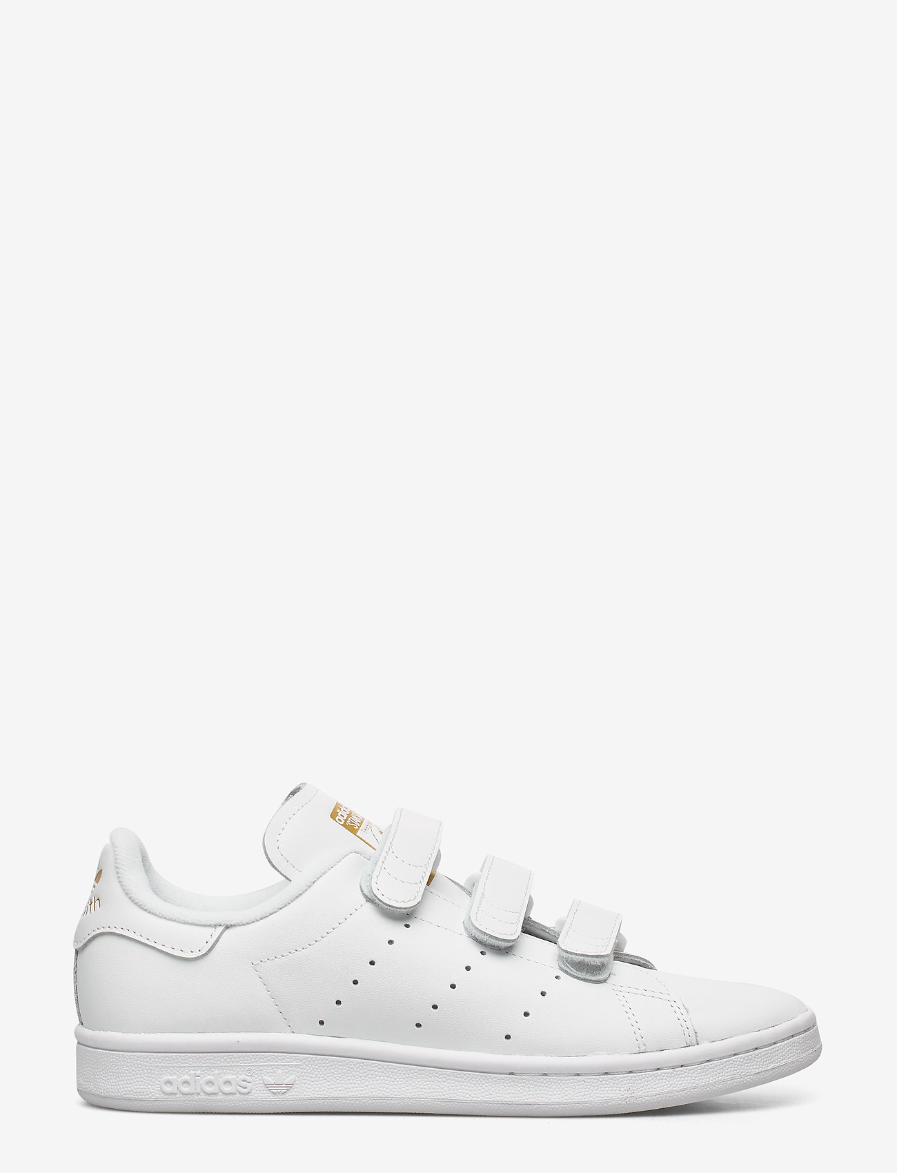 adidas Originals - STAN SMITH CF - lav ankel - ftwwht/ftwwht/goldmt - 1