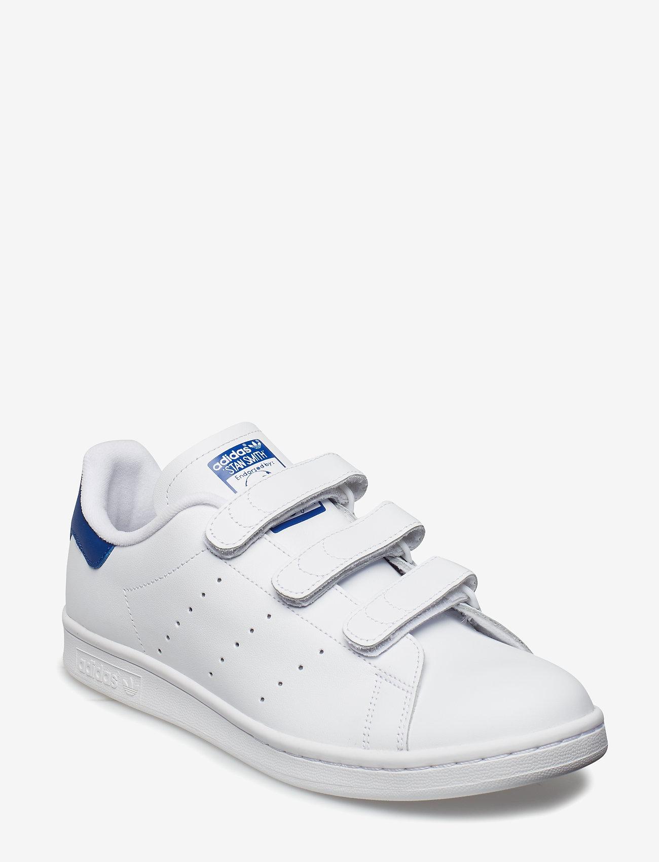 adidas Originals - STAN SMITH CF - lav ankel - ftwwht/ftwwht/croyal - 0