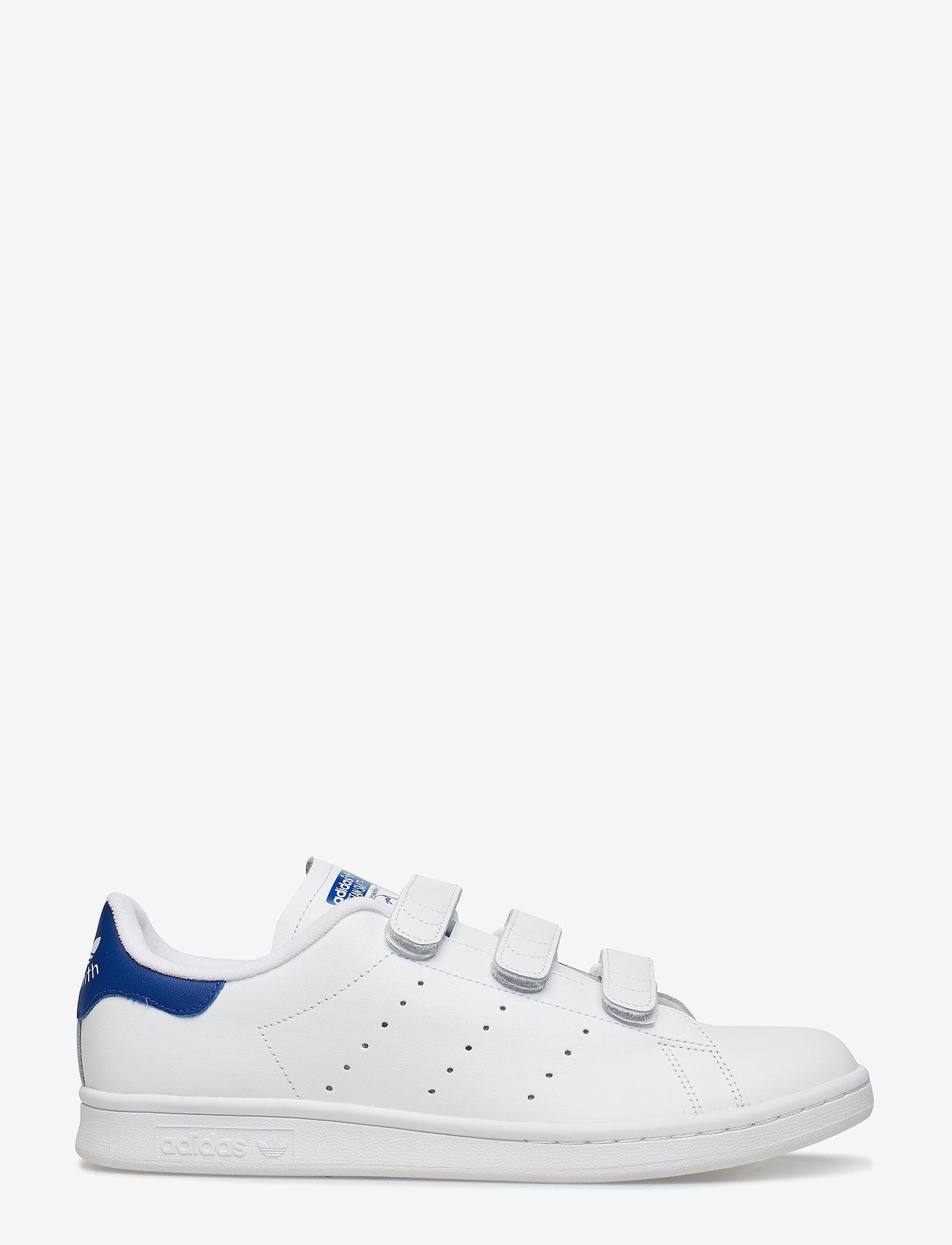 adidas Originals - STAN SMITH CF - lav ankel - ftwwht/ftwwht/croyal - 1