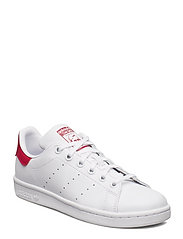STAN SMITH J - FTWWHT/FTWWHT/BOPINK