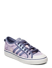 Nizza W Låga Sneakers Lila ADIDAS ORIGINALS